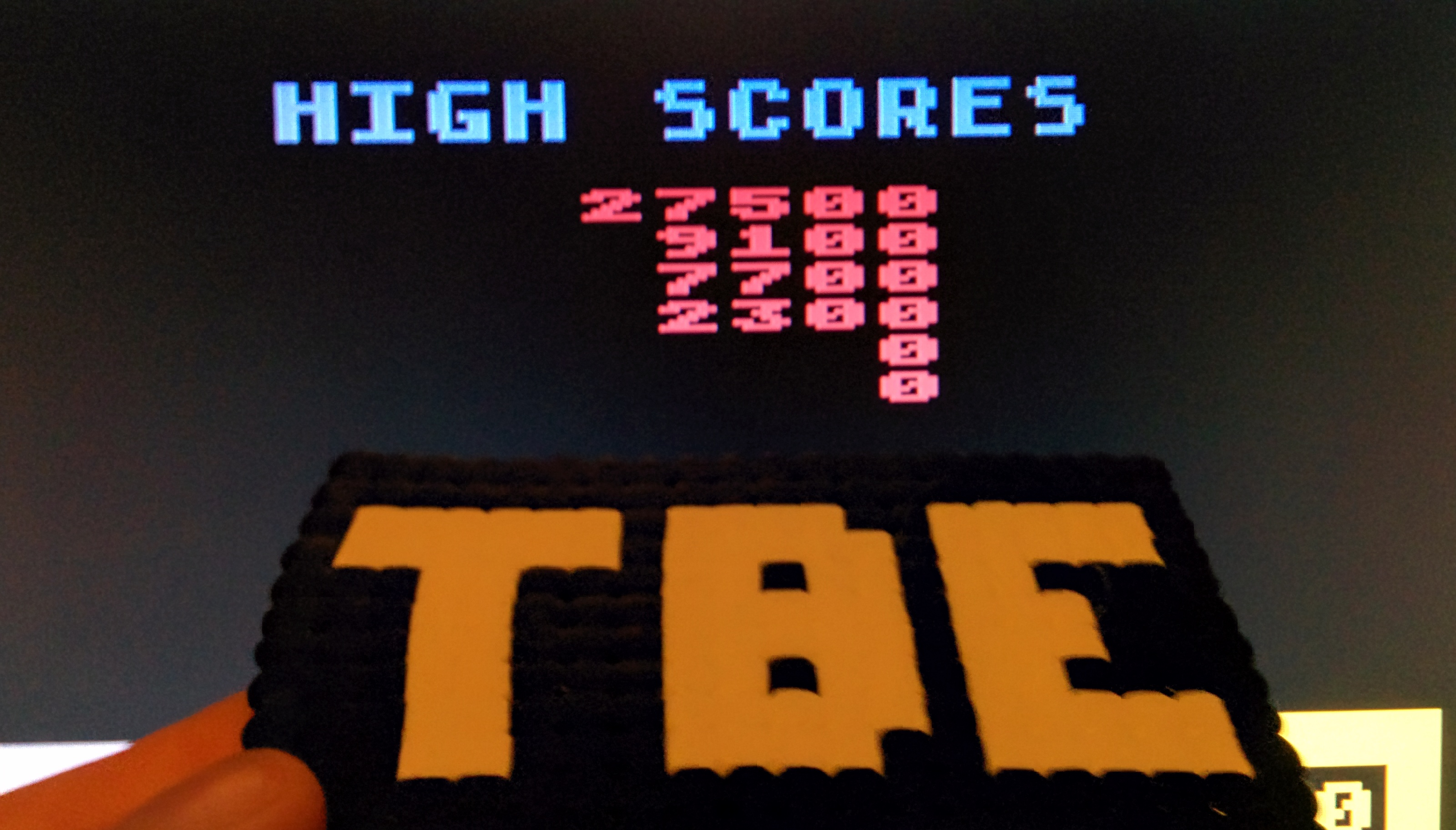 Sixx: Wizard of Wor (Atari 400/800/XL/XE Emulated) 27,500 points on 2014-10-24 16:21:14