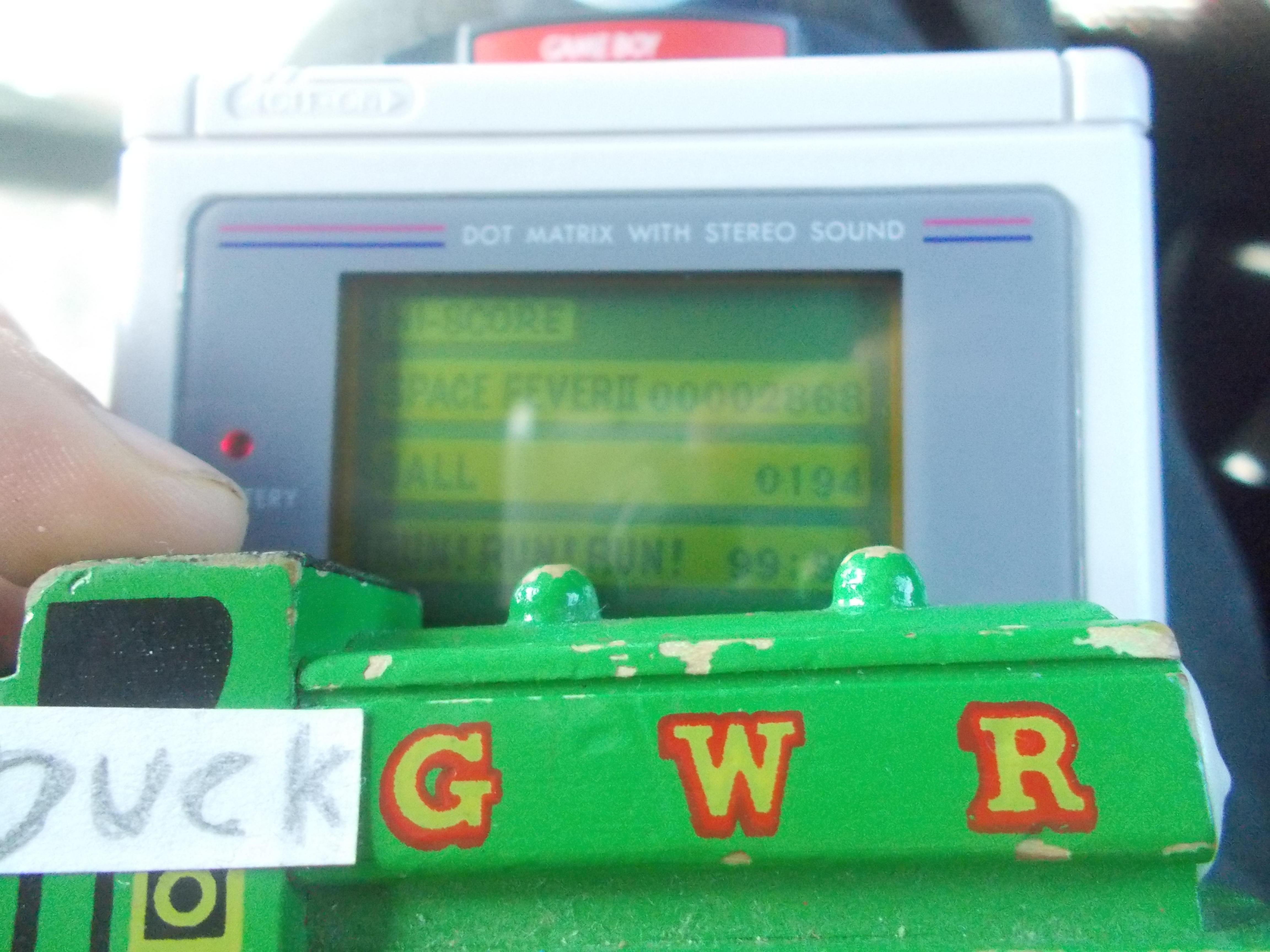 DuckGWR: Game Boy Camera: Ball (Game Boy) 194 points on 2014-10-24 19:32:03