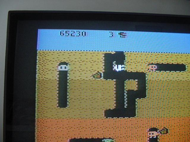 Dig Dug: Carrot Start 65,230 points