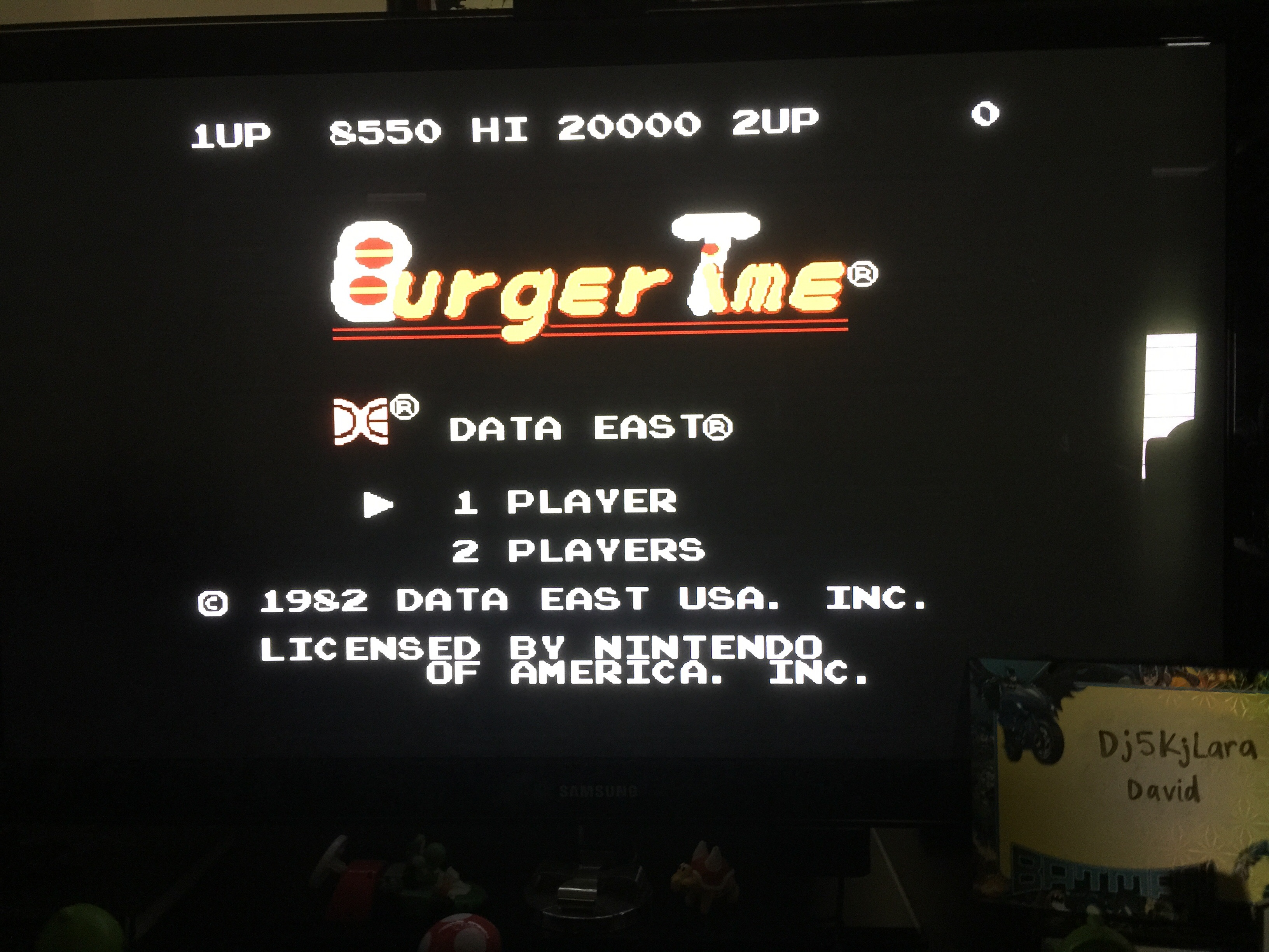 dj5kjlara: BurgerTime (NES/Famicom Emulated) 8,550 points on 2014-10-25 14:59:38