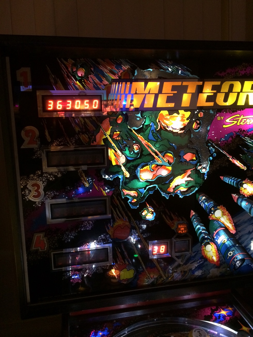 Serious: Meteor (Pinball: 3 Balls) 363,050 points on 2014-10-25 16:27:58