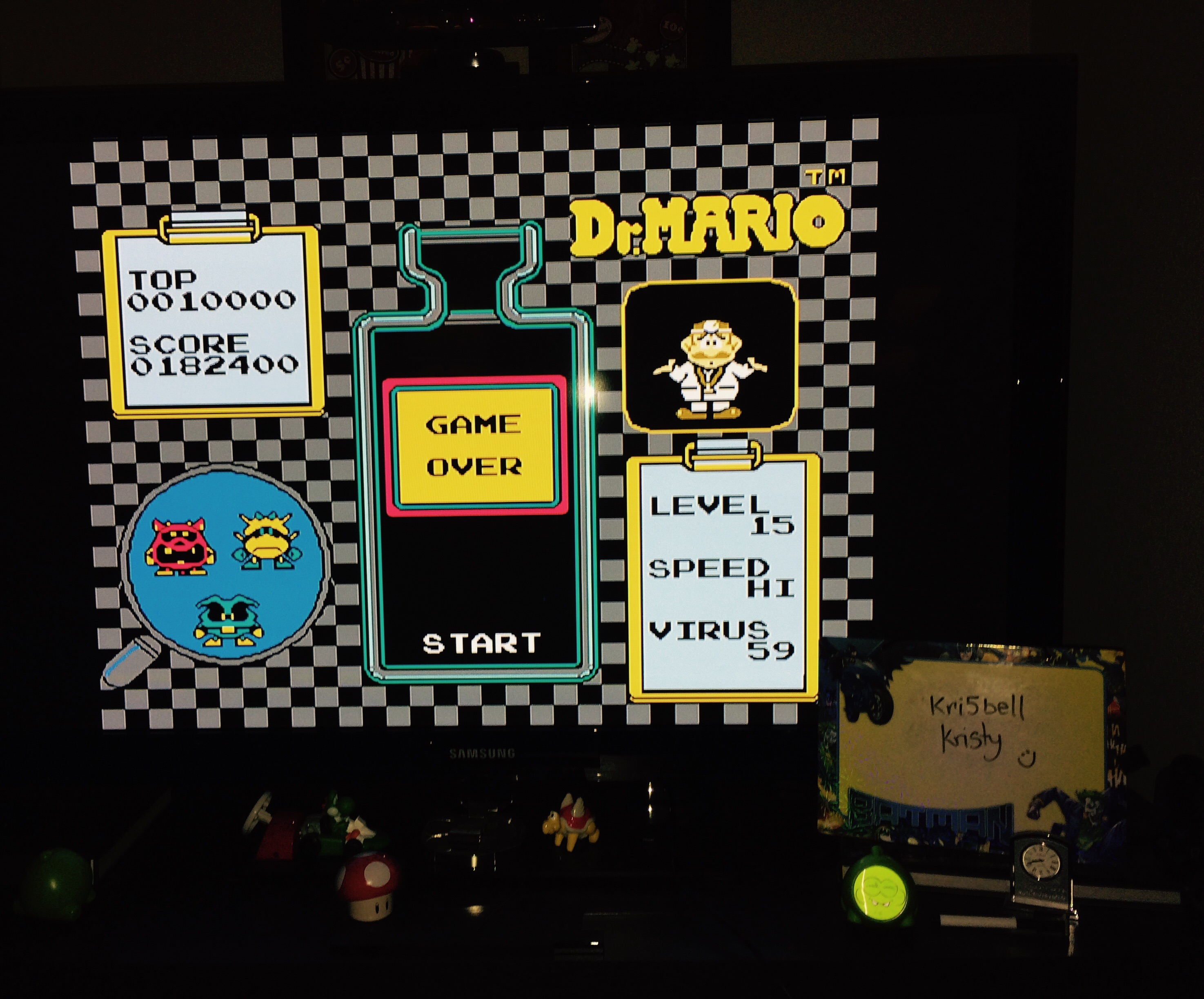 Dr. Mario 182,400 points