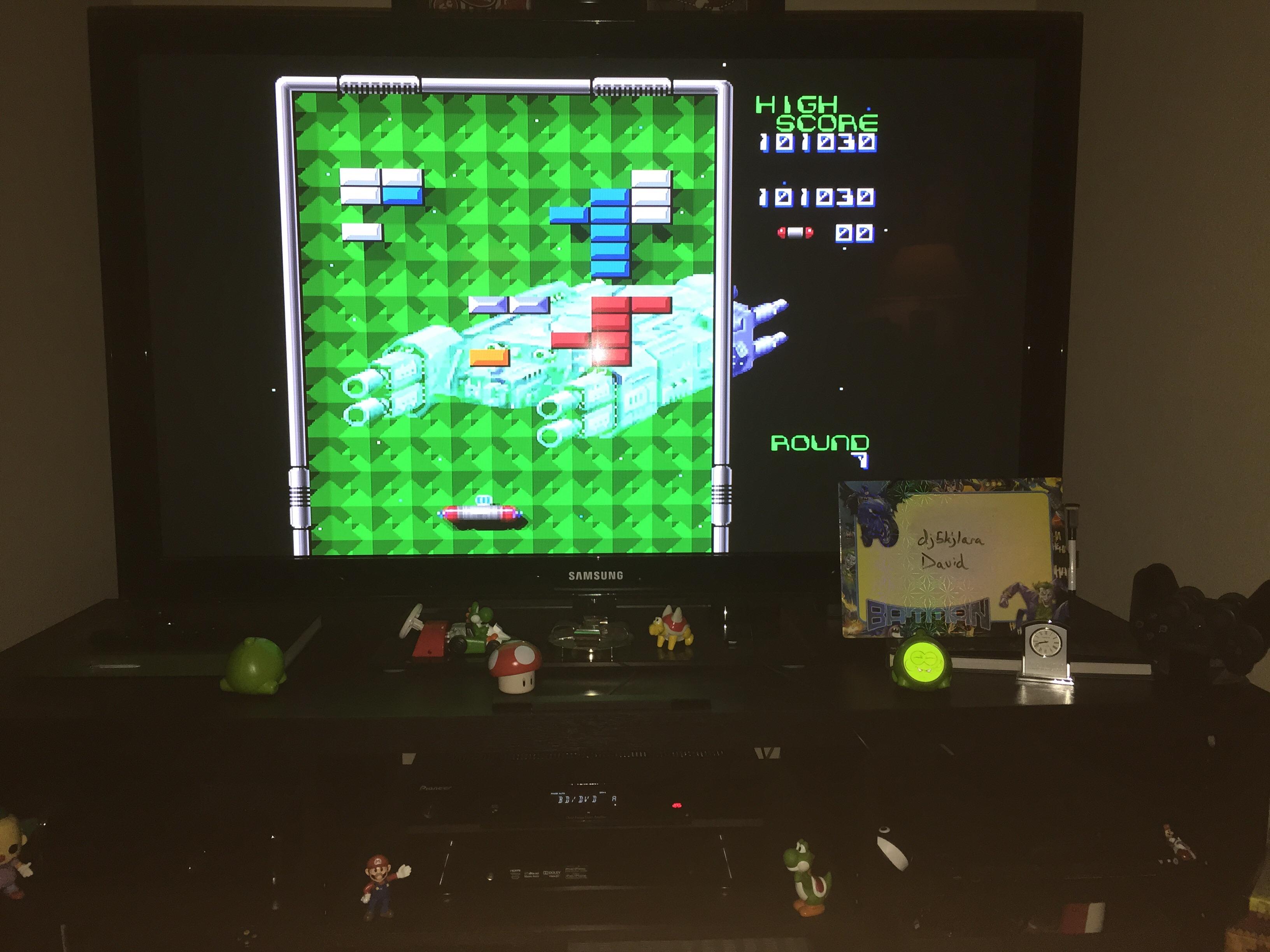 dj5kjlara: Arkanoid: Doh It Again (SNES/Super Famicom Emulated) 101,030 points on 2014-10-25 22:51:55