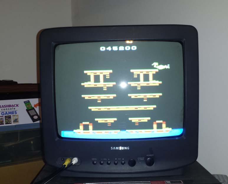 gavv: Roc N Rope (Atari 2600 Novice/B) 45,200 points on 2014-10-26 01:43:11