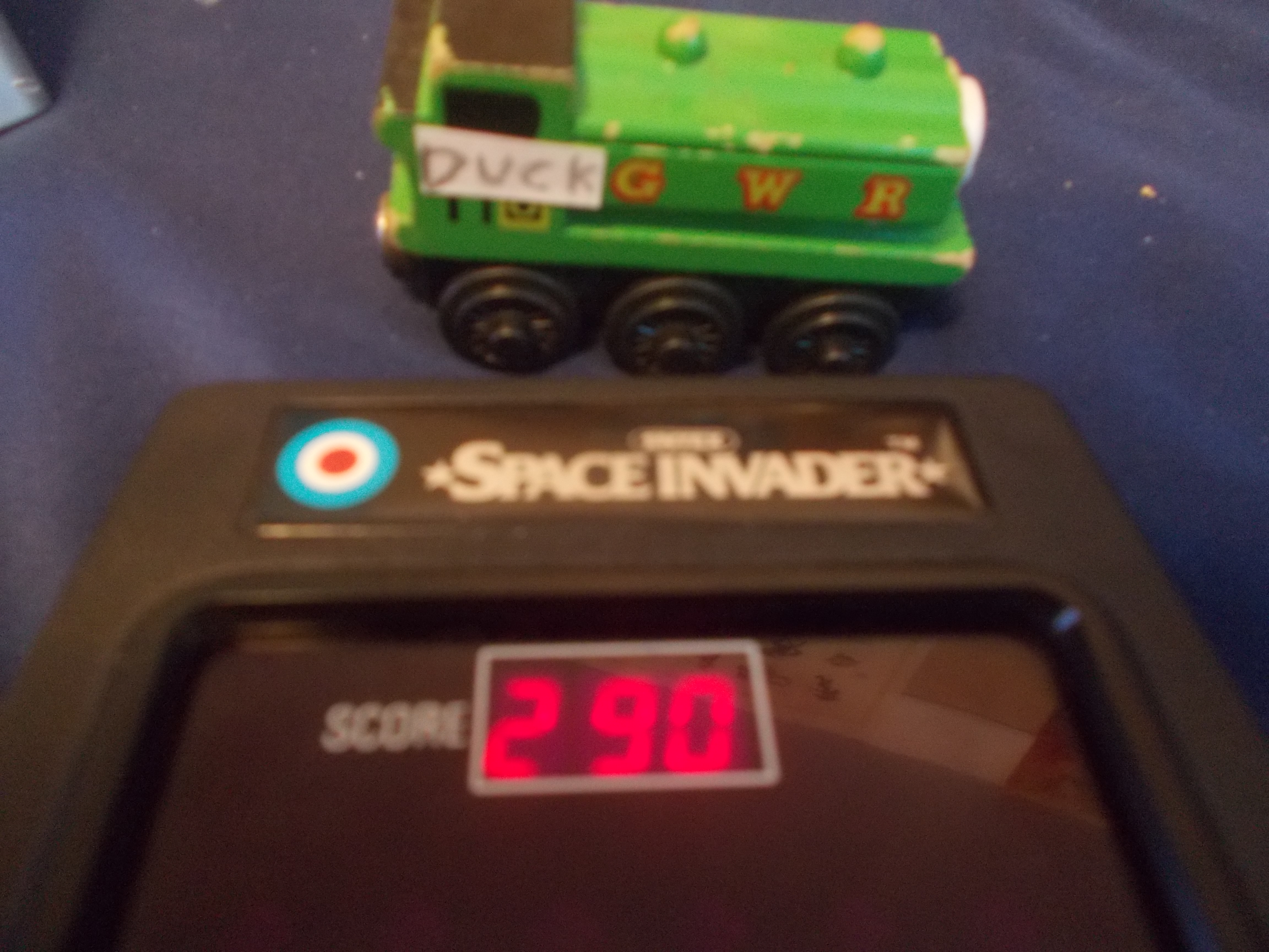 Entex Space Invader 290 points