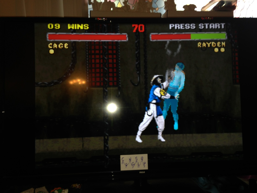 Mortal Kombat II: Very Easy [Win Streak] 9 points