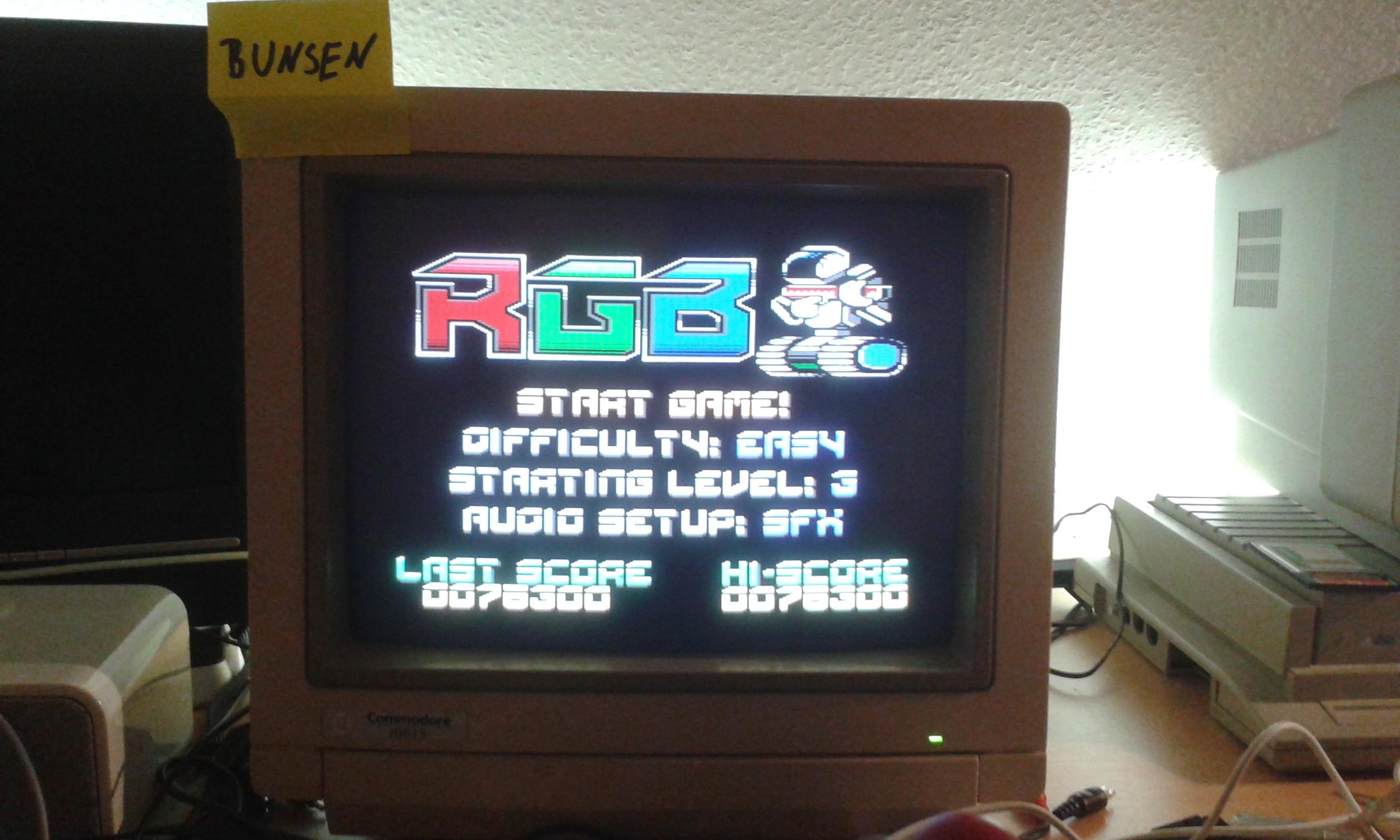 Bunsen: RGB (Atari 400/800/XL/XE) 76,300 points on 2014-10-26 14:49:51