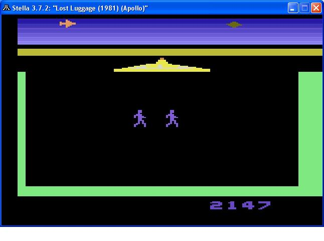 gavv: Lost Luggage (Atari 2600 Emulated Novice/B Mode) 2,147 points on 2014-10-26 21:43:08