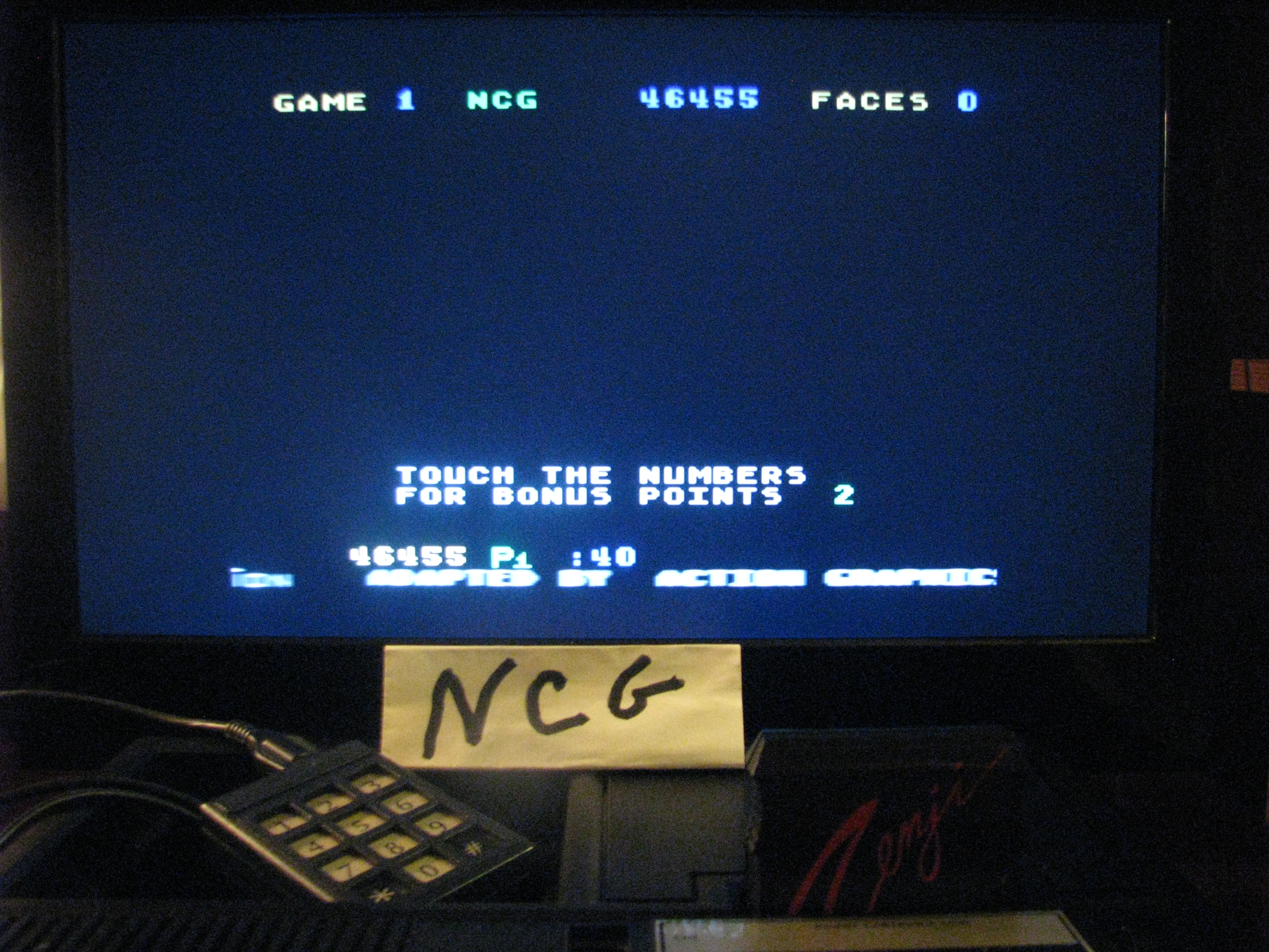NorthCoastGamer: Zenji: Game 1 (Colecovision) 46,455 points on 2014-10-27 18:01:44