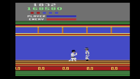 Kung Fu Master 168,580 points