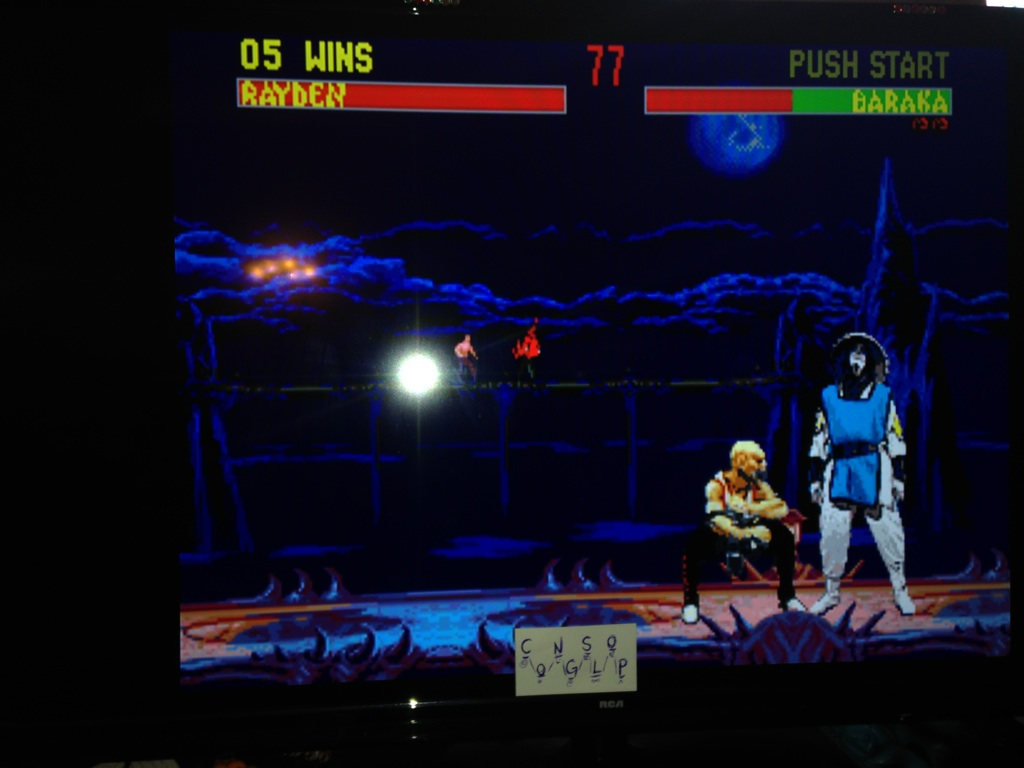 Mortal Kombat 2: Very Easy:  Win streak 5 points