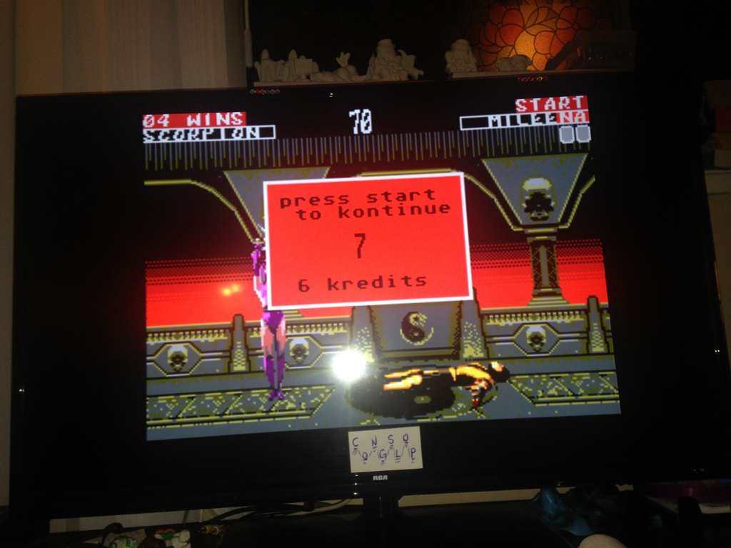Mortal Kombat II [Easy / Win Streak] 4 points