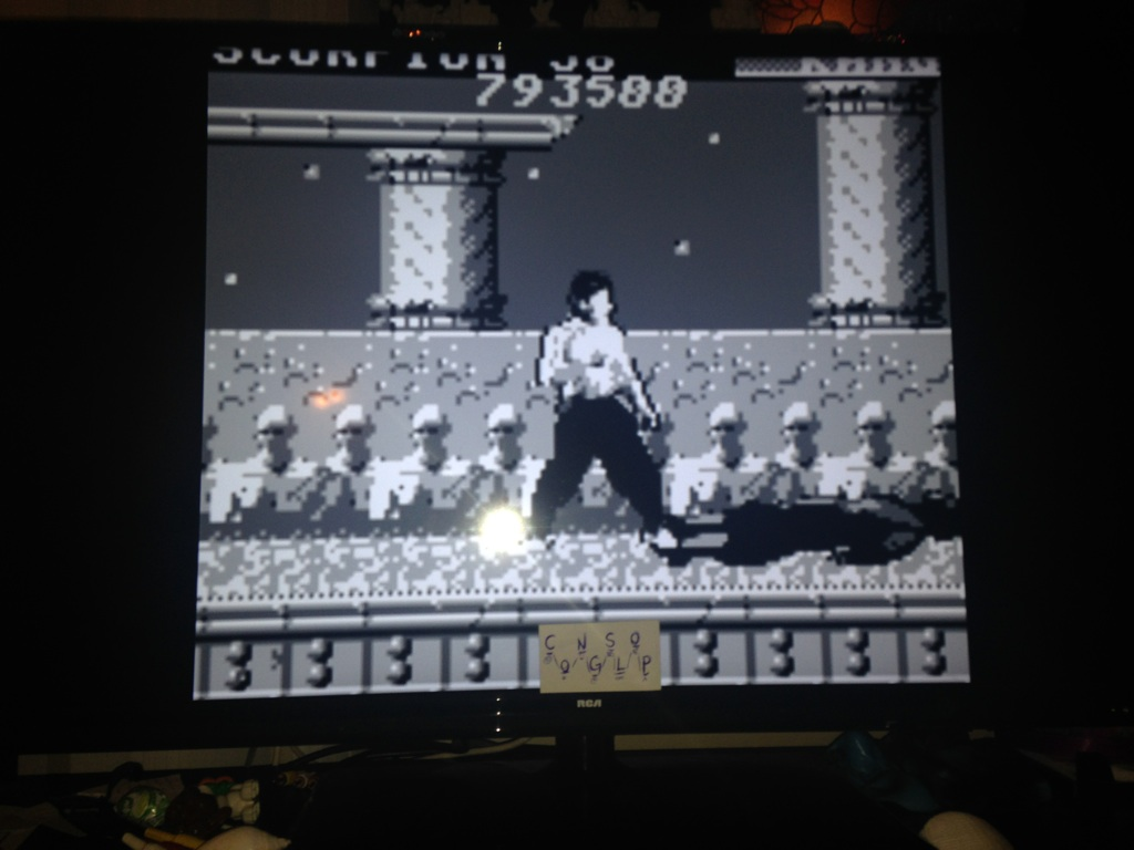 Congslop: Mortal Kombat (Game Boy Emulated) 793,500 points on 2014-10-29 21:38:13