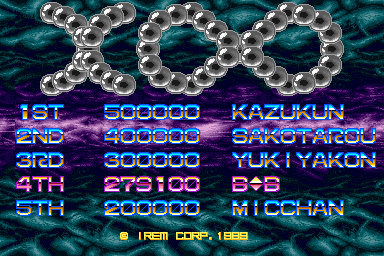 BarryBloso: X Multiply [World, M81] [xmultipl] (Arcade Emulated / M.A.M.E.) 279,100 points on 2014-10-30 22:30:38