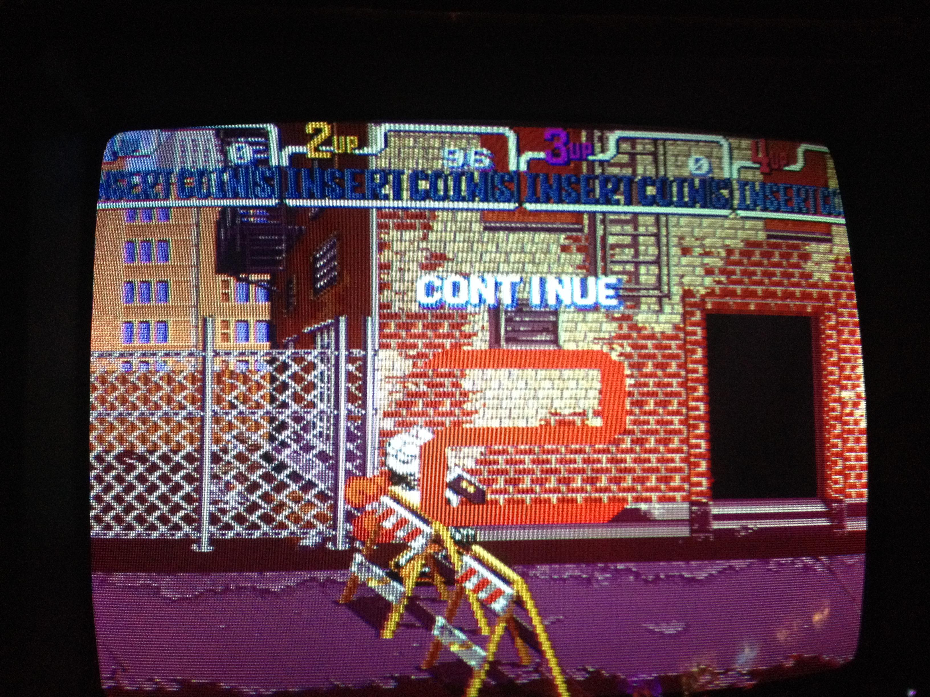 FosterAMF: Teenage Mutant Ninja Turtles: Turtles In Time (Arcade) 96 points on 2014-11-01 14:34:46