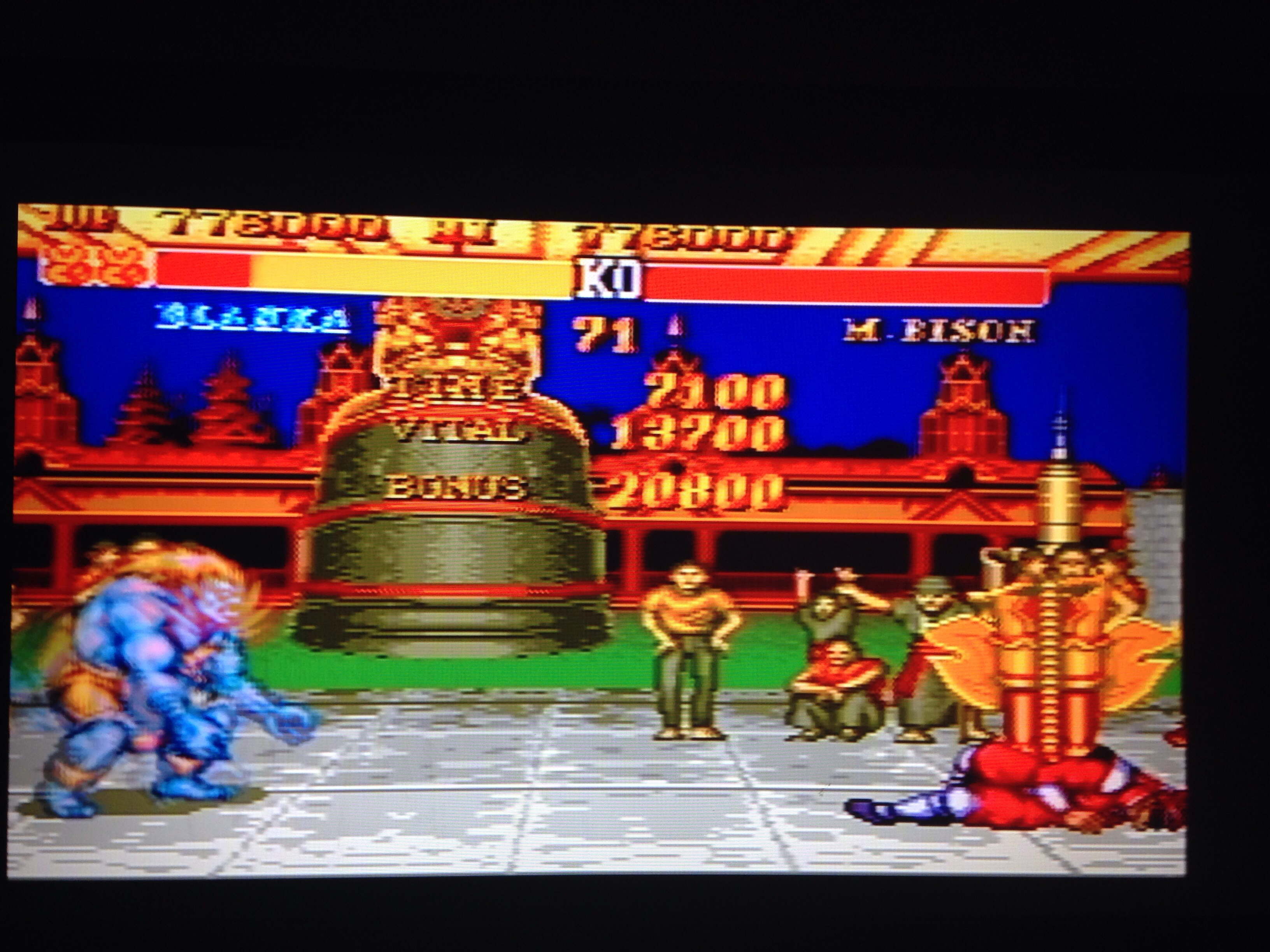 Street Fighter II 776,000 points
