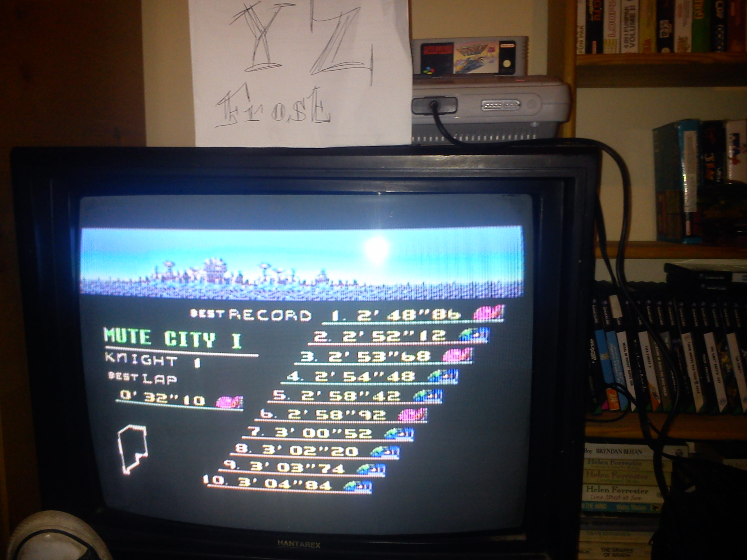 Fr0st: F-Zero: Mute City I [Beginner] (SNES/Super Famicom) 0:02:48.86 points on 2014-11-03 16:53:36