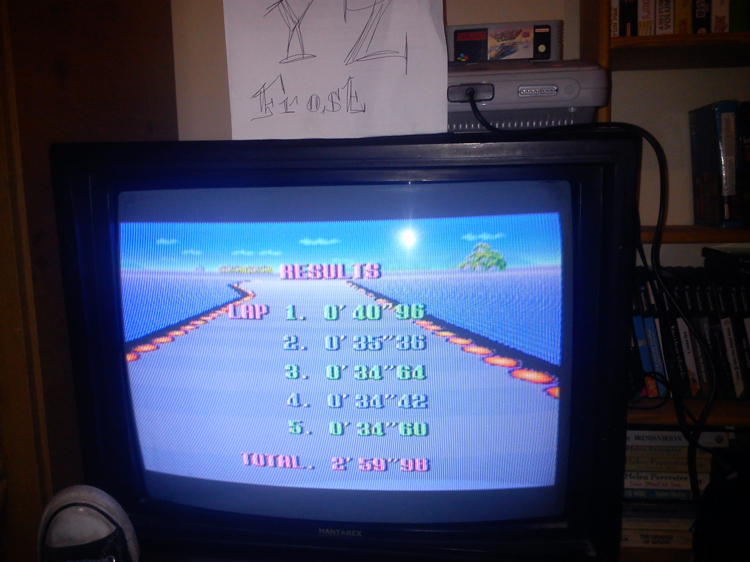Fr0st: F-Zero: Big Blue [Beginner] (SNES/Super Famicom) 0:02:59.98 points on 2014-11-03 17:06:46