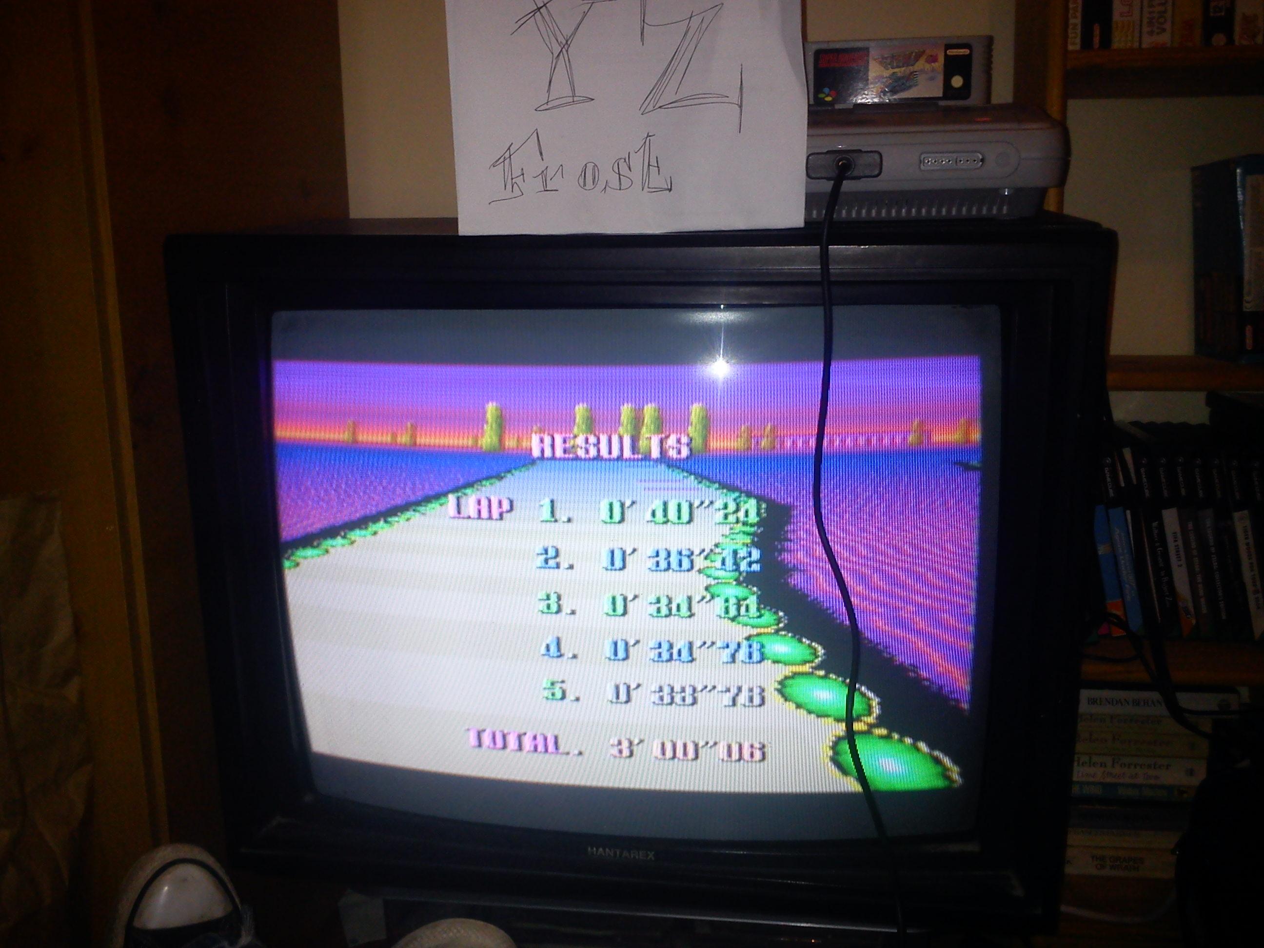 Fr0st: F-Zero: Silence [Beginner] (SNES/Super Famicom) 0:03:00.06 points on 2014-11-03 17:35:06
