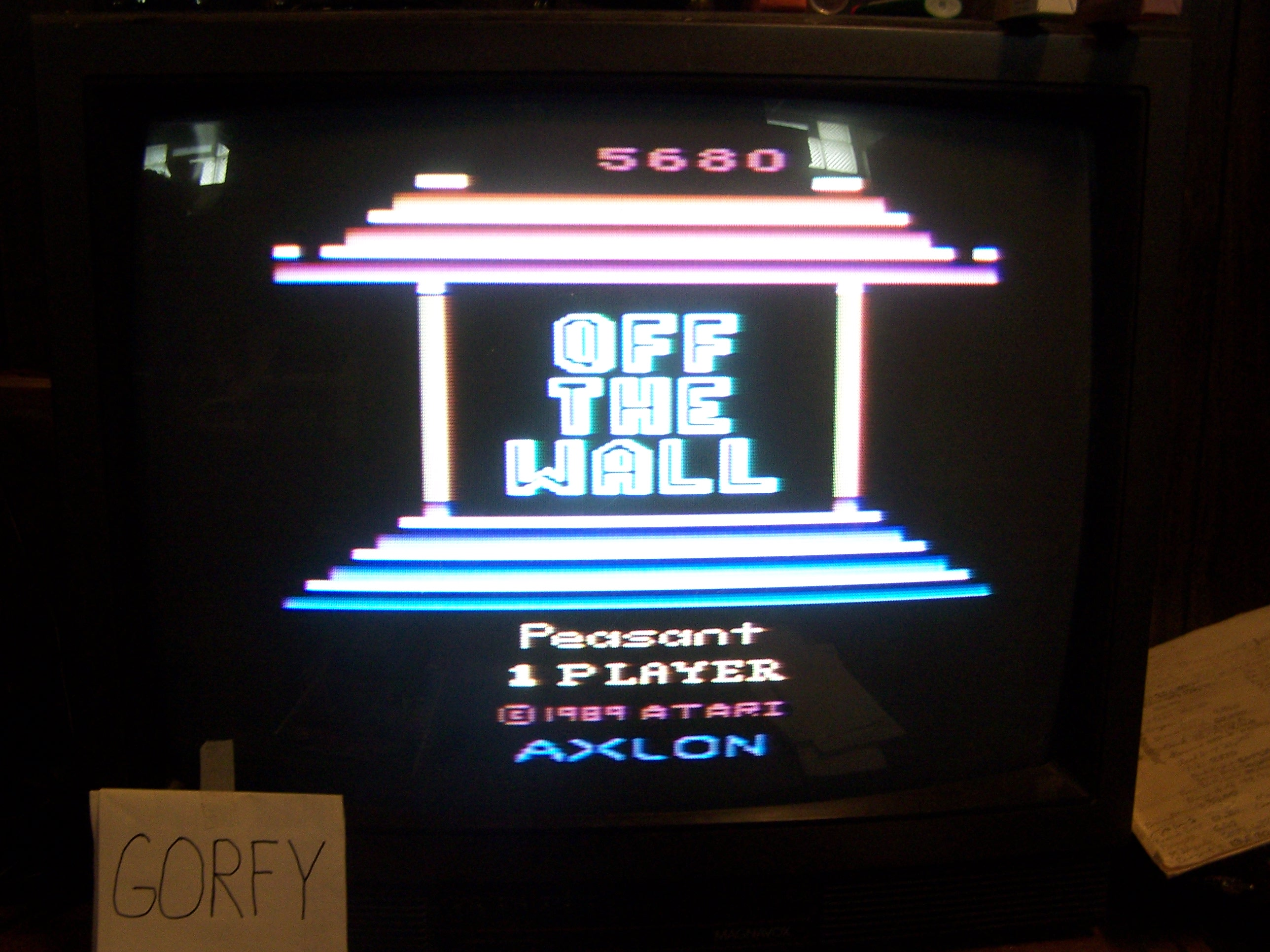 Off the Wall 5,680 points