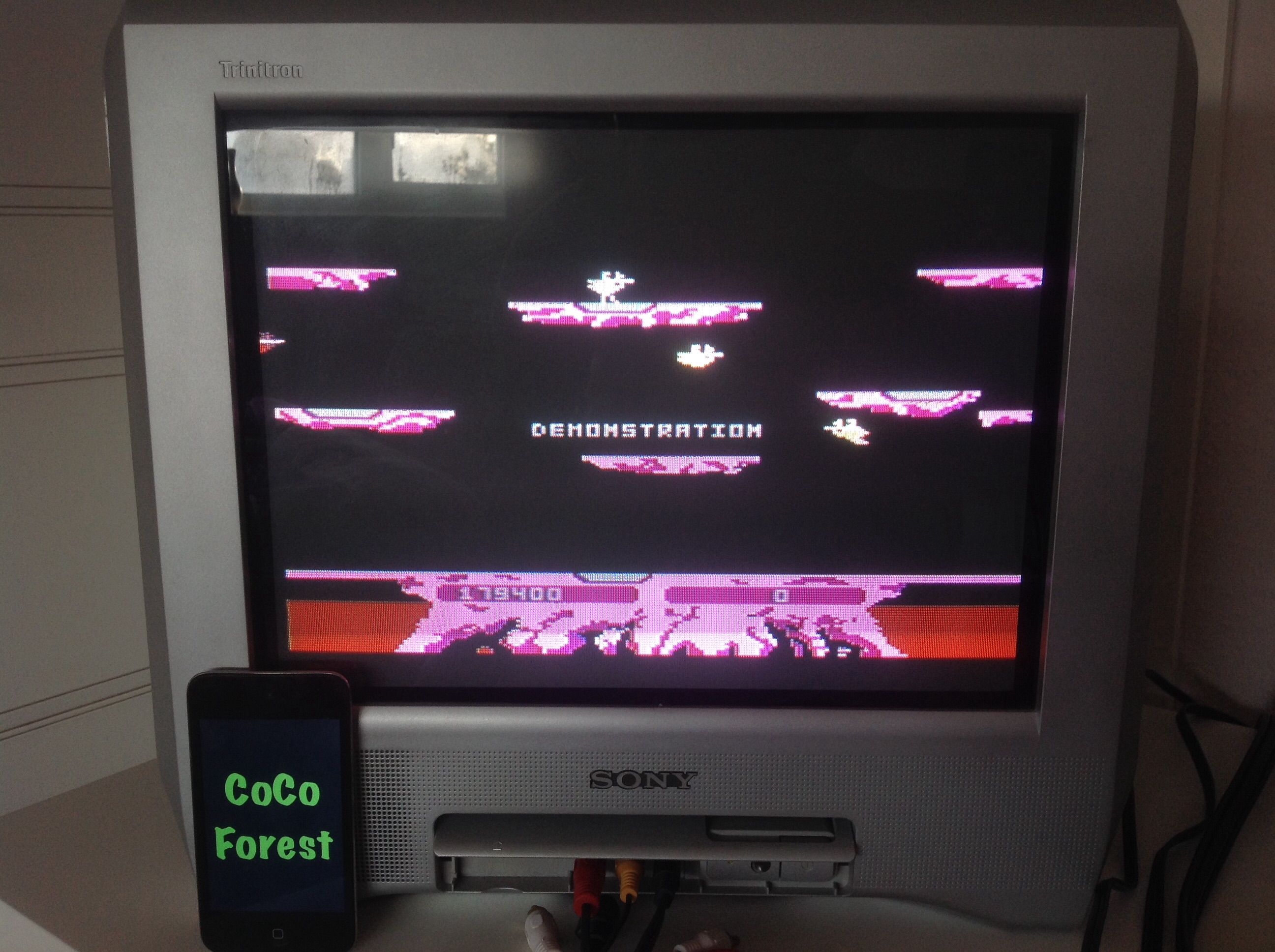 CoCoForest: Joust: Advanced (Atari 5200) 179,400 points on 2014-11-05 03:47:17