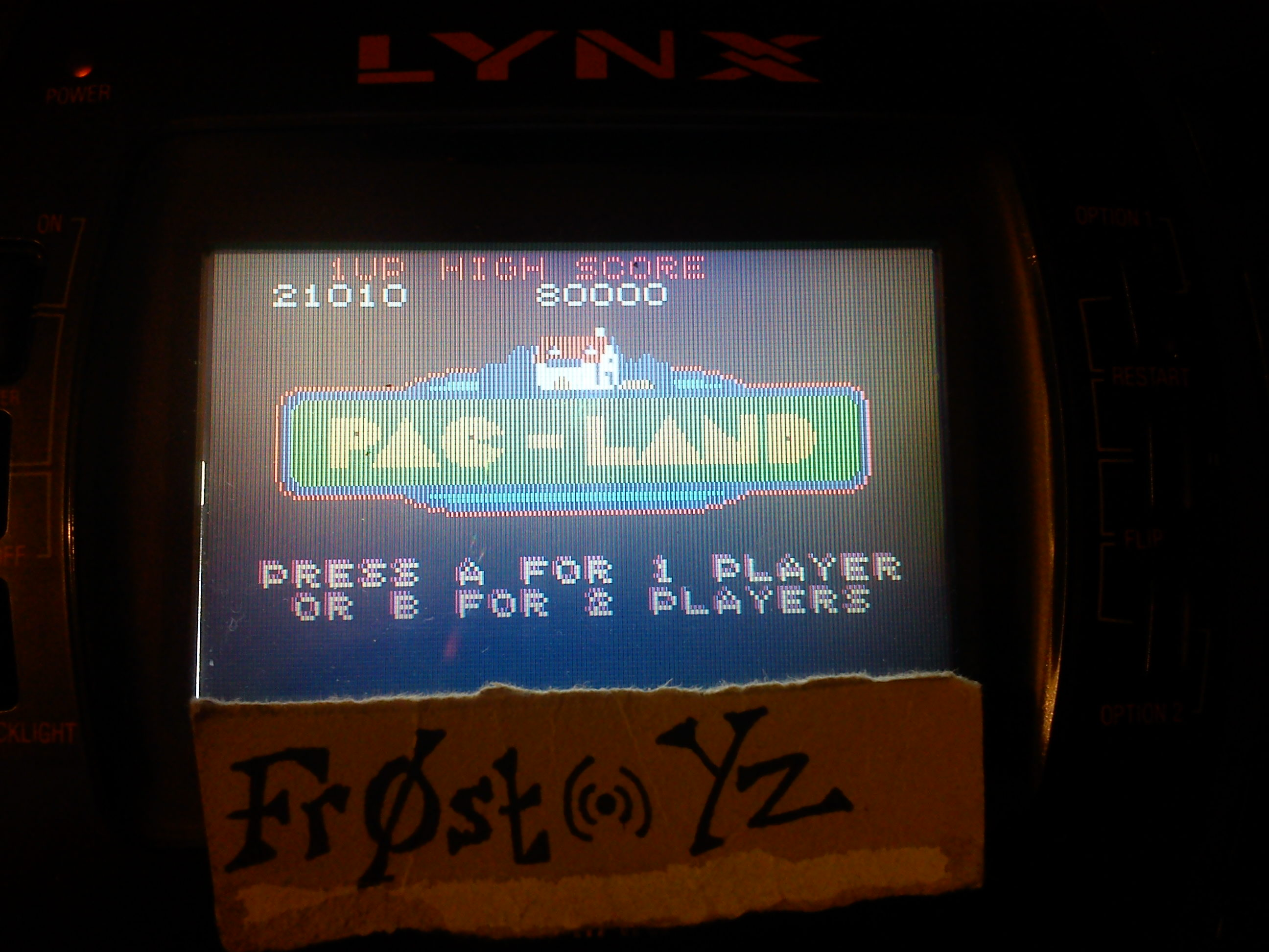 Pac-Land 21,010 points