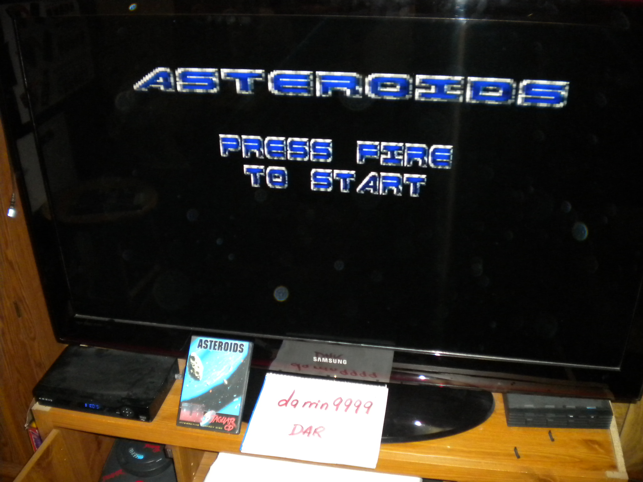 Asteroids 12,370 points