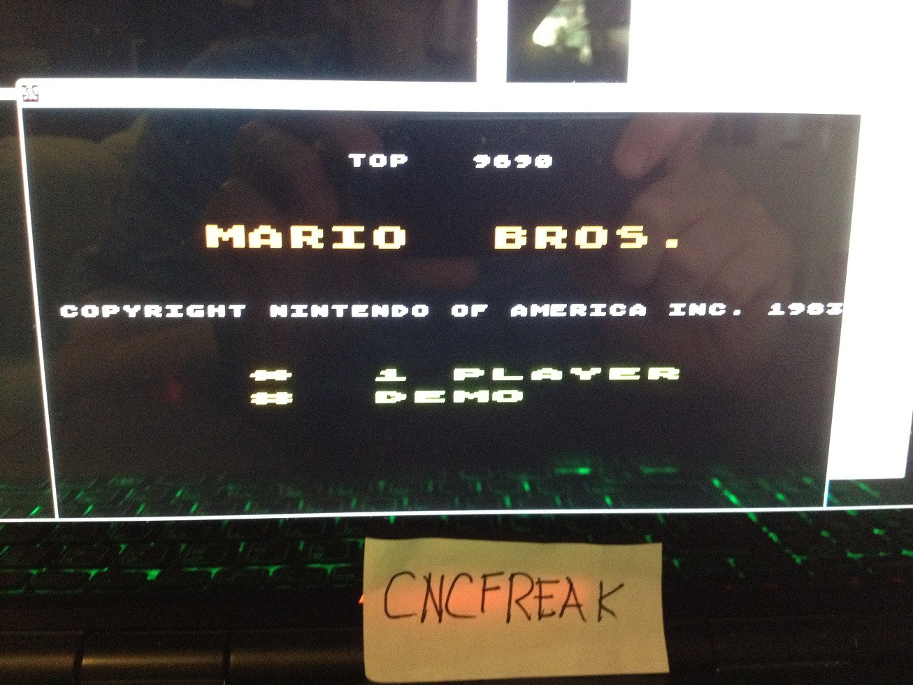 Mario Bros 9,690 points
