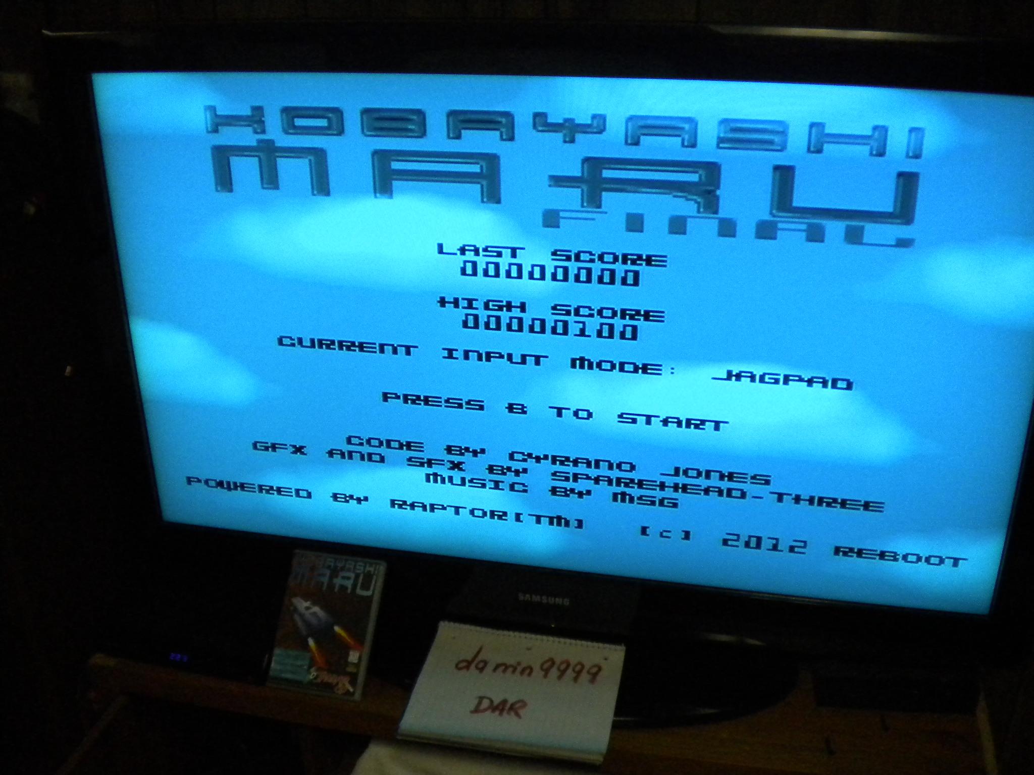 Kobayashi Maru 62,945 points