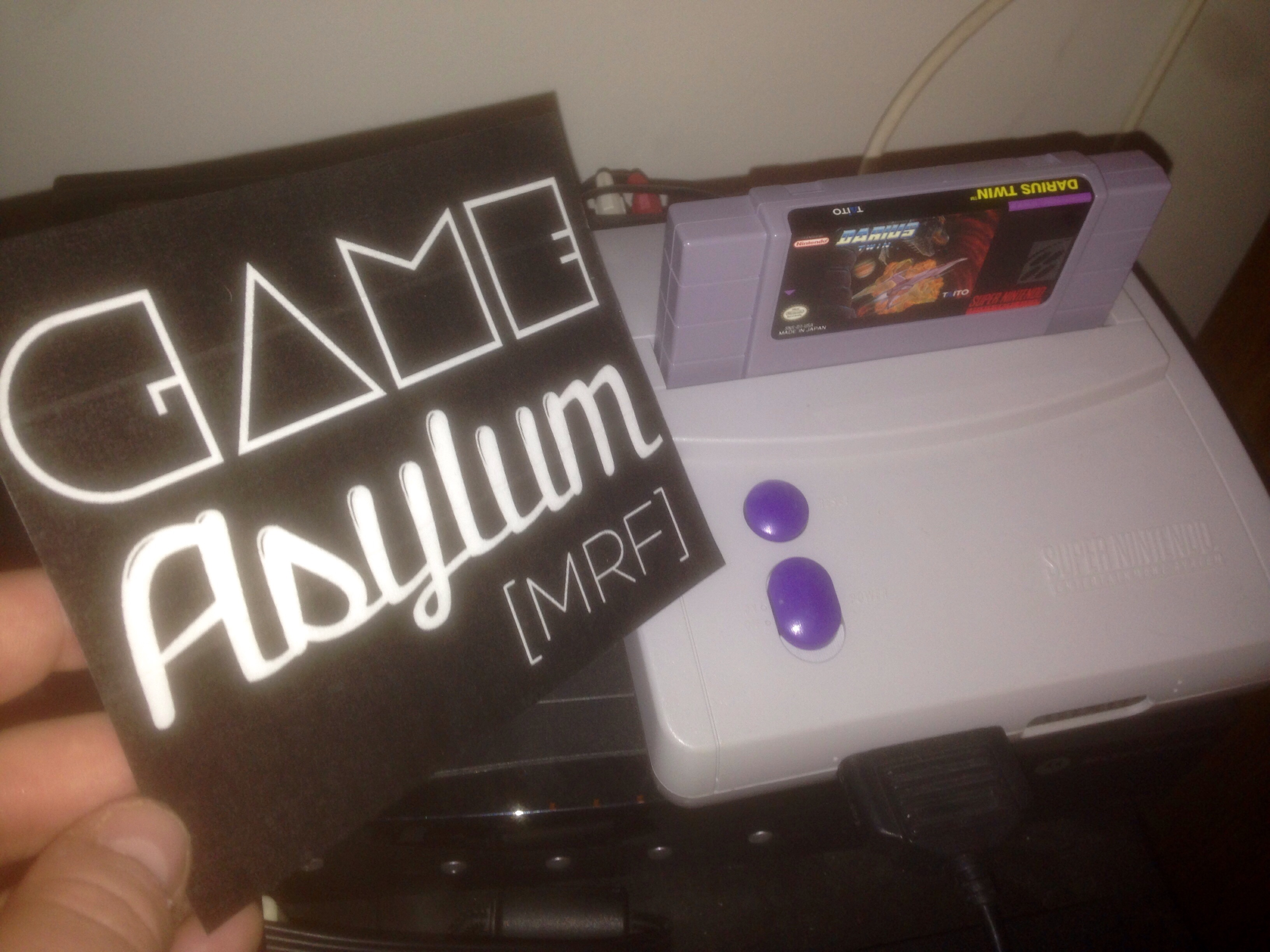 GameAsylum: Darius Twin (SNES/Super Famicom) 922,900 points on 2014-11-10 22:35:49