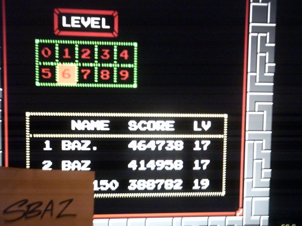 Tetris 464,738 points