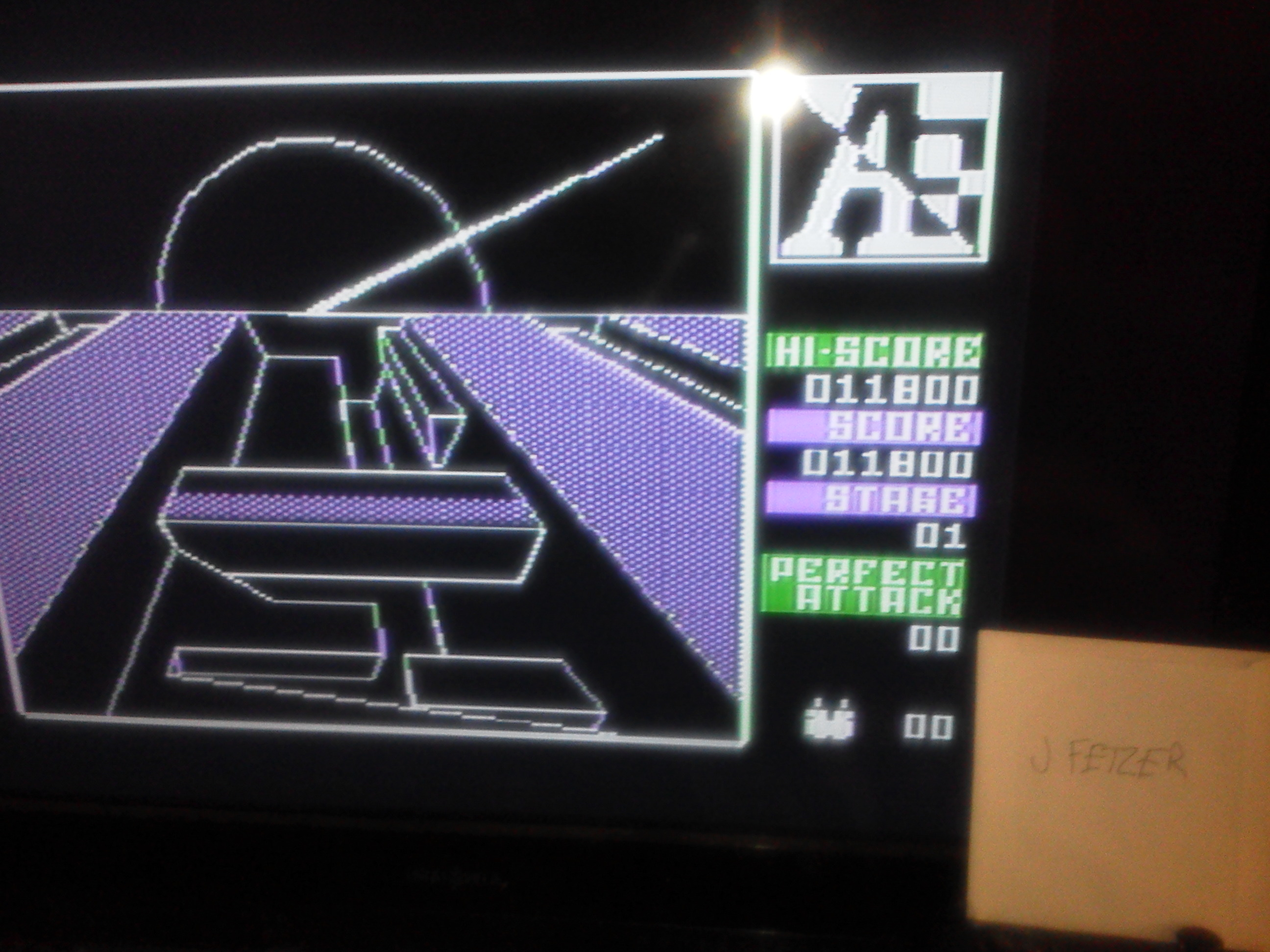 jfetzer: A.E. (Atari 5200 Emulated) 11,800 points on 2014-11-11 17:07:53