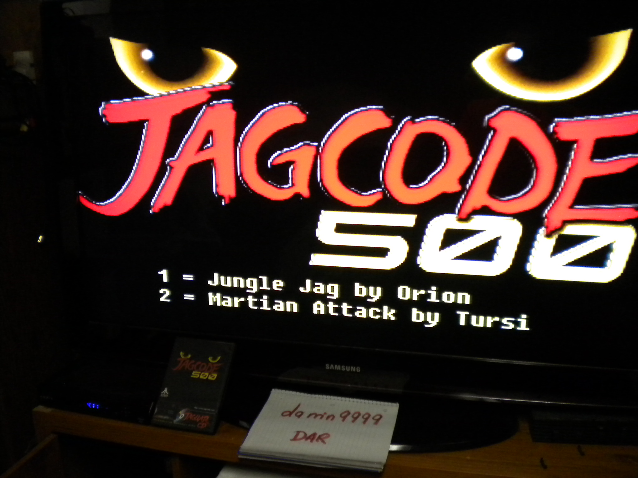 JagCode 500: Martian Attack 88,170 points