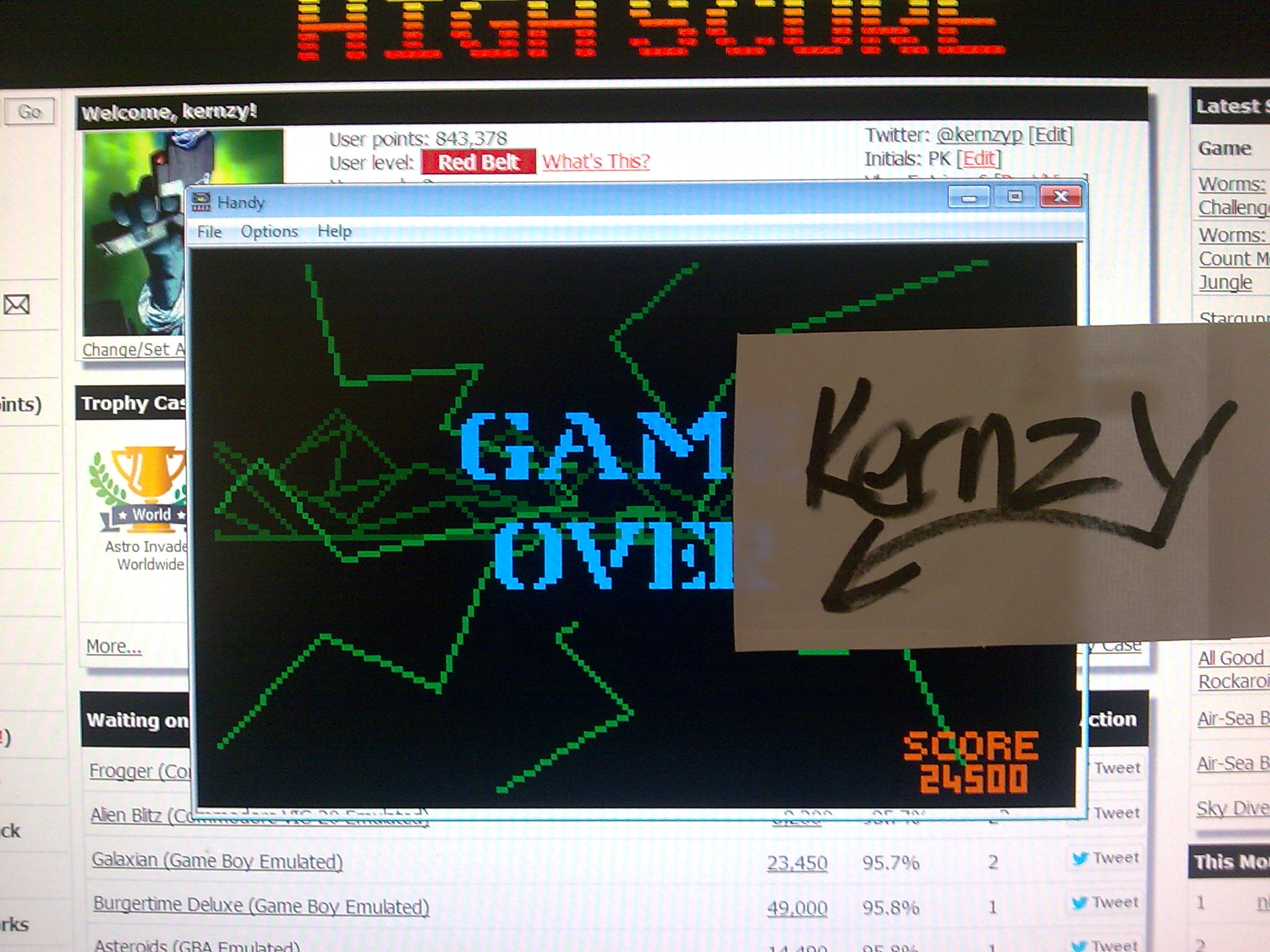 kernzy: Battlezone 2000 (Atari Lynx Emulated) 24,500 points on 2014-11-12 06:44:38