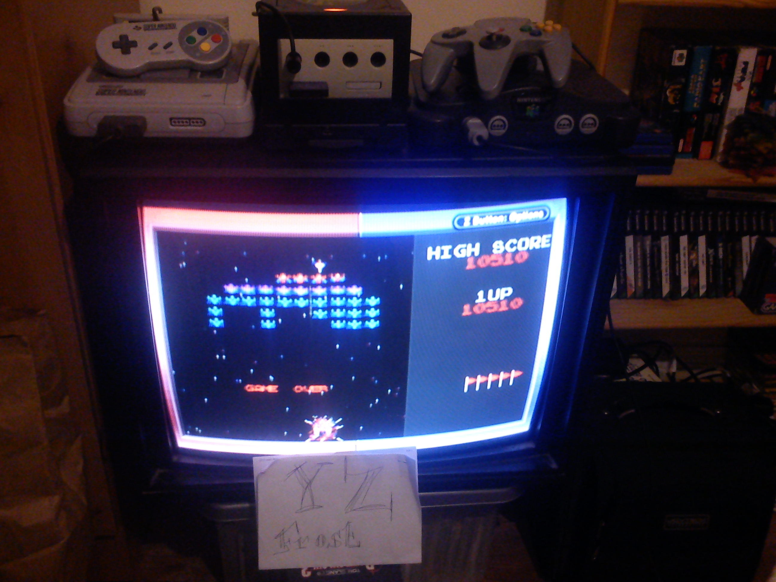 Fr0st: Namco Museum: Galaxian (GBA) 10,510 points on 2014-11-12 16:28:21