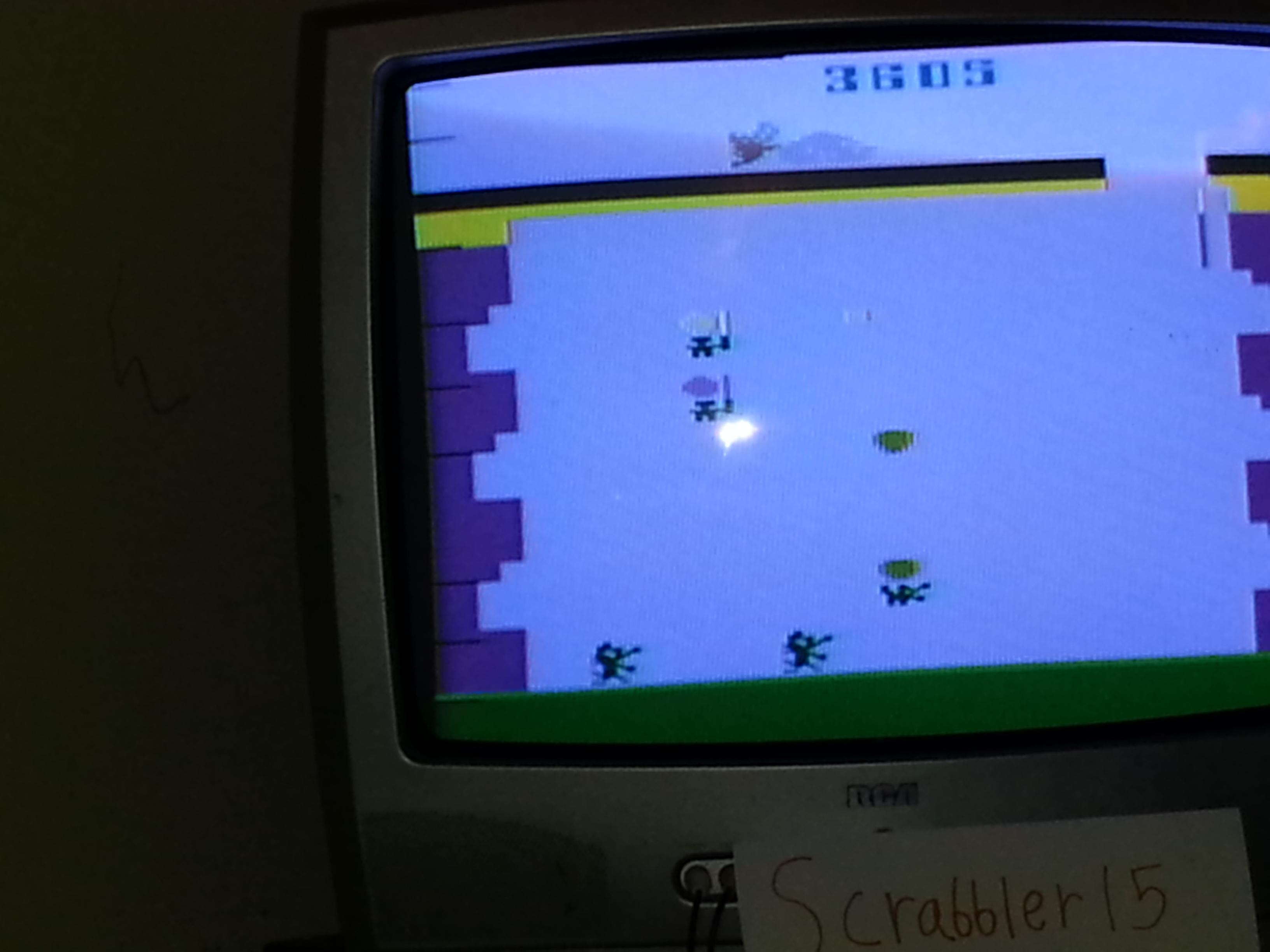 Scrabbler15: Pooyan (Atari 2600 Novice/B) 3,605 points on 2014-11-12 17:44:38