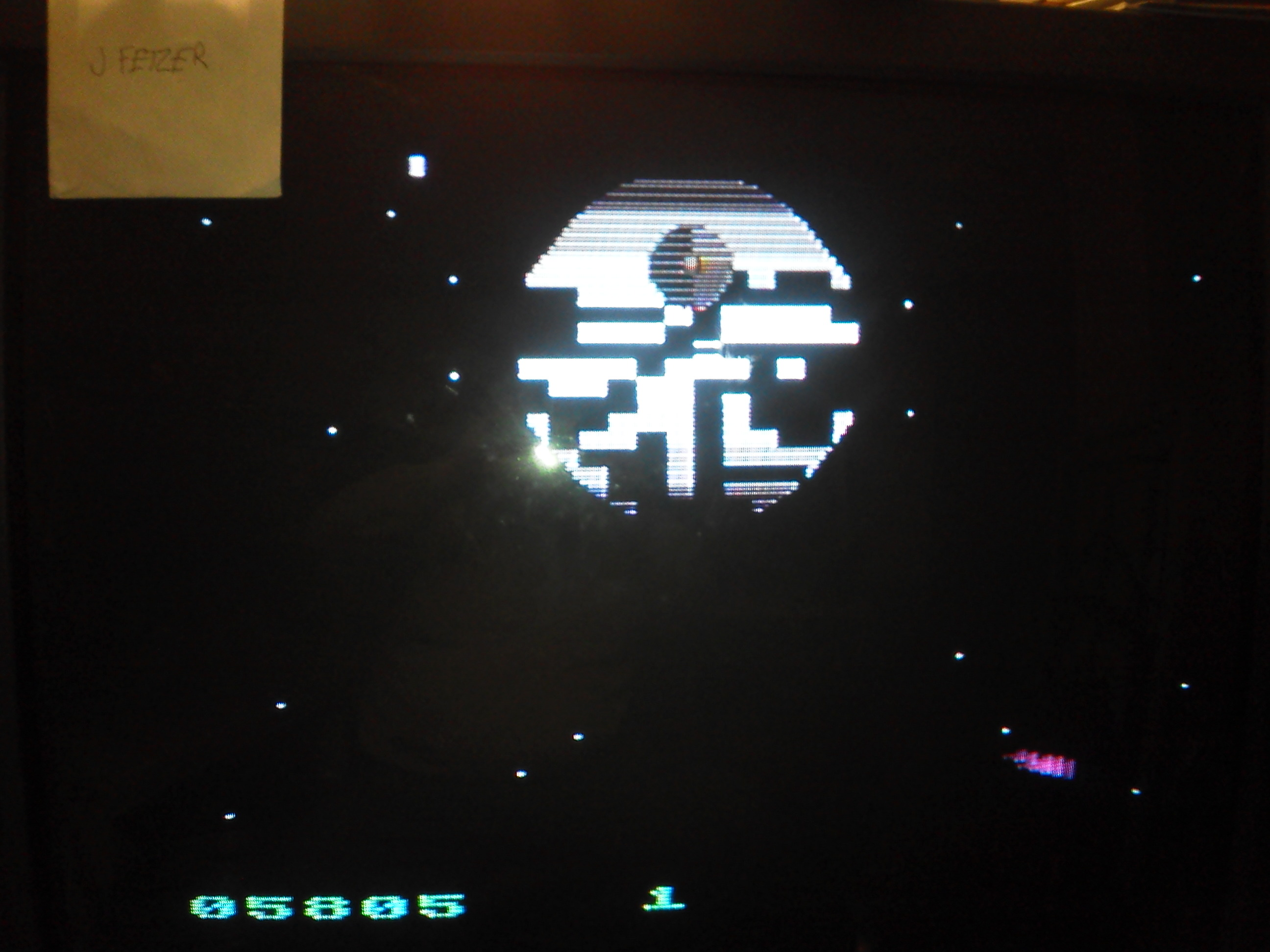 jfetzer: Star Wars: Return of the Jedi: Death Star Battle (Atari 5200) 5,805 points on 2014-11-12 18:54:00