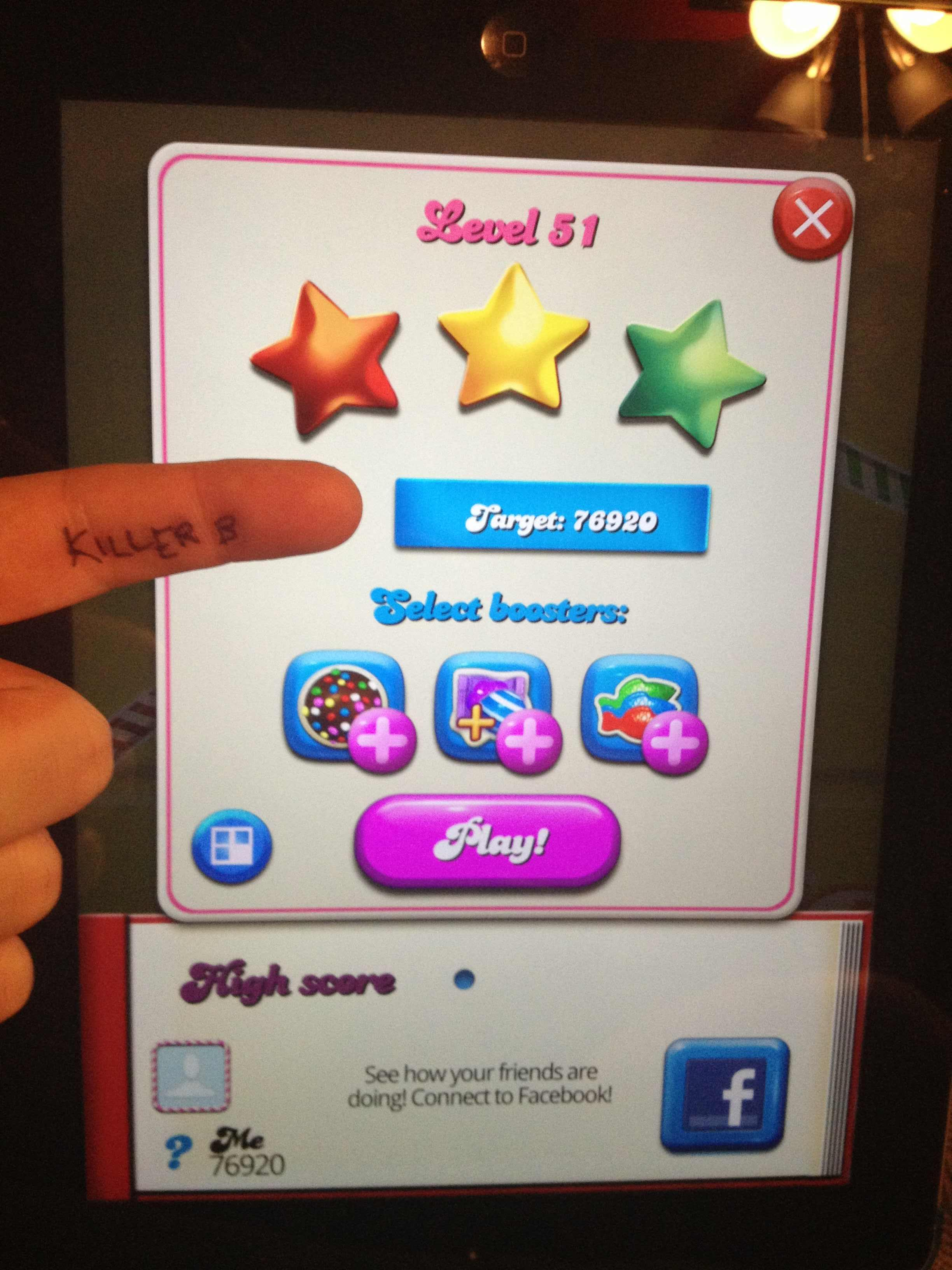 Candy Crush Saga: Level 051 76,920 points