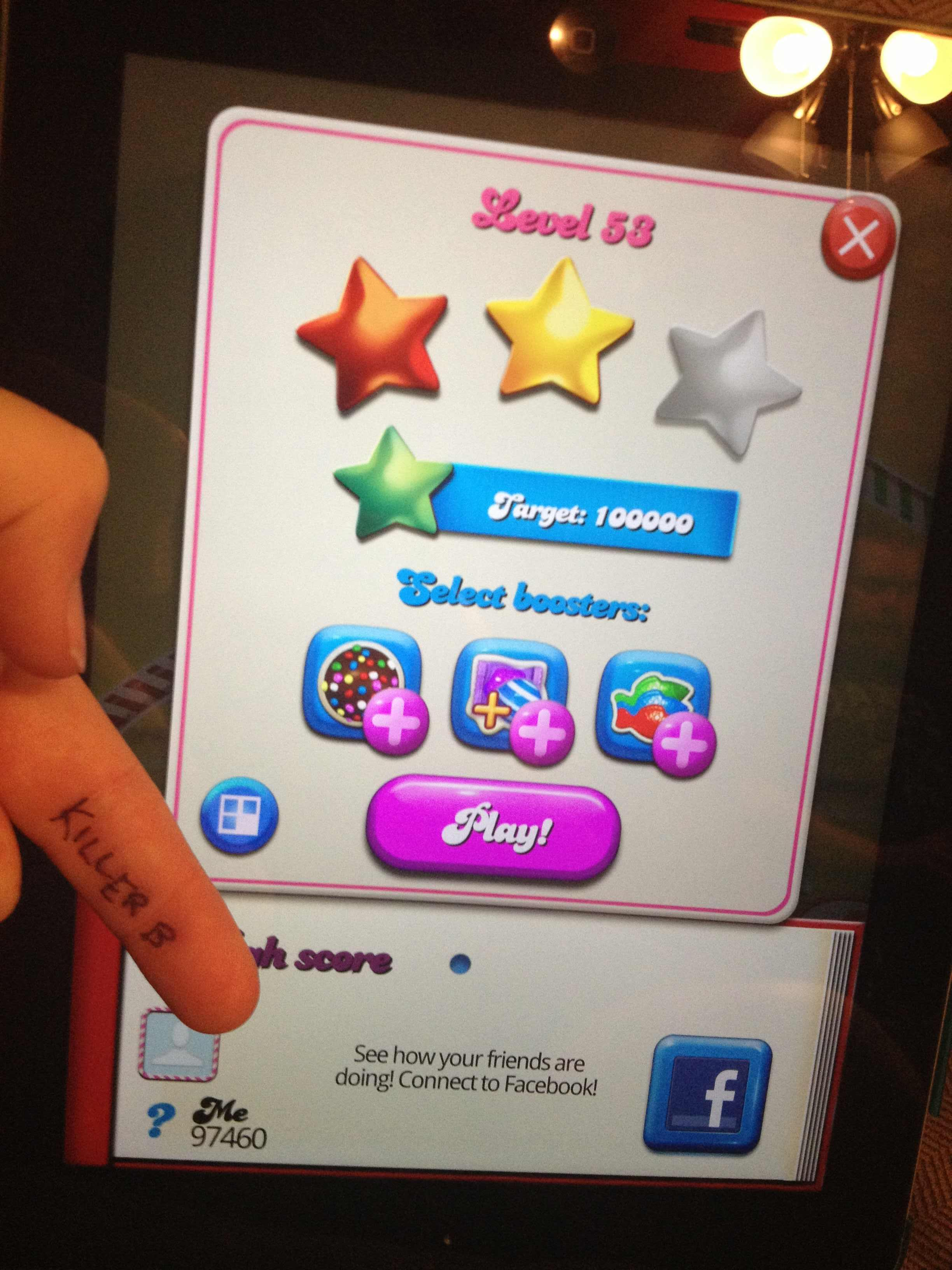Candy Crush Saga: Level 053 97,460 points