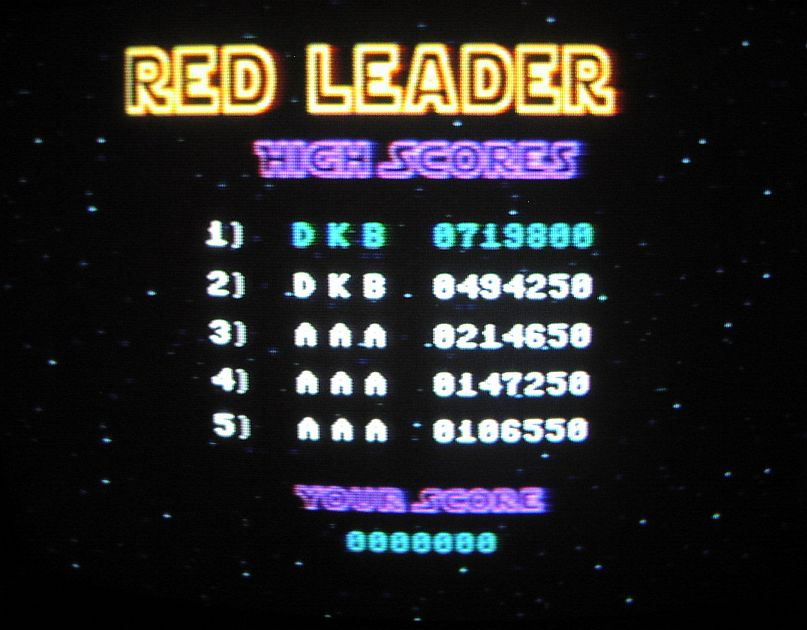 Red Leader 494,250 points