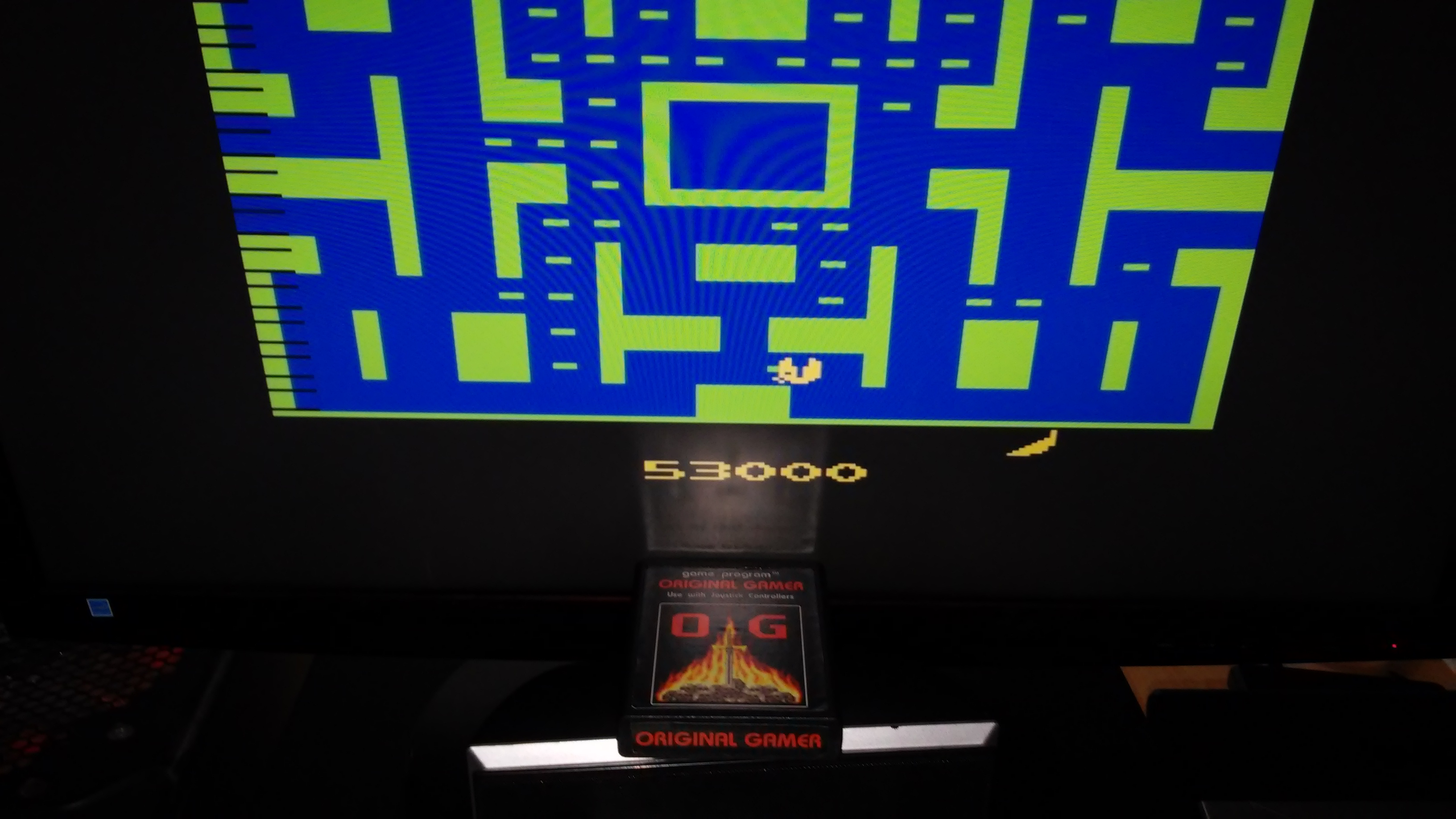 Ms. Pac-Man 53,000 points