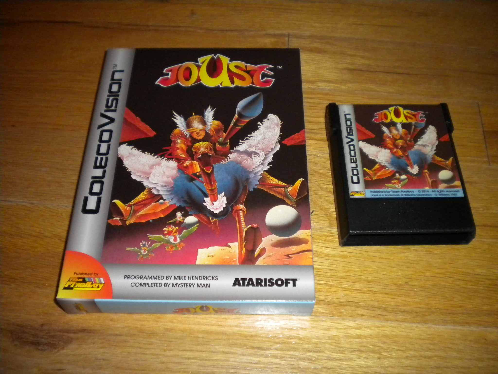 Joust 26,550 points