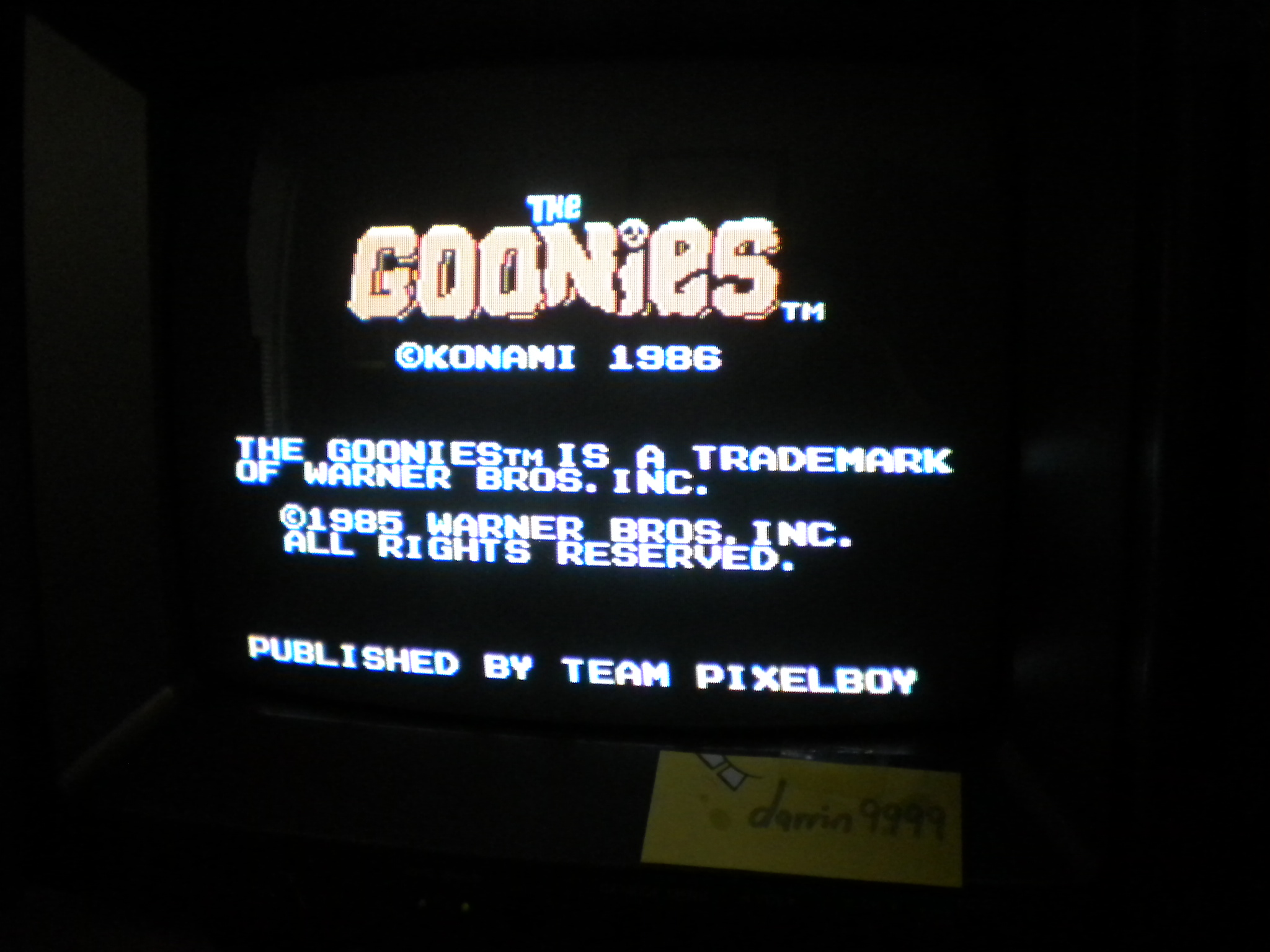 The Goonies 14,200 points