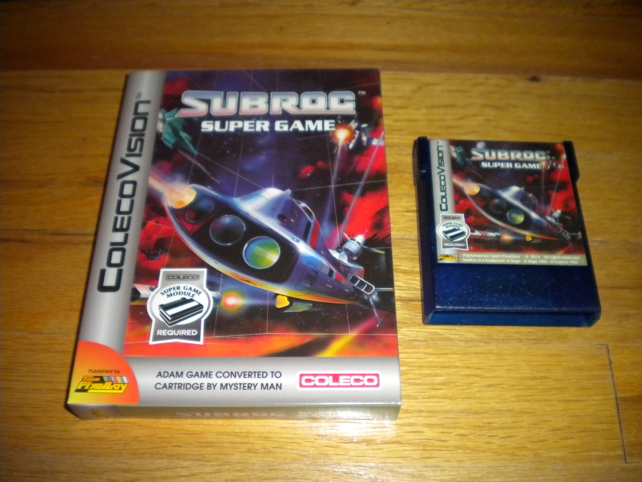 SubRoc Super Game: Skill 1 3,600 points