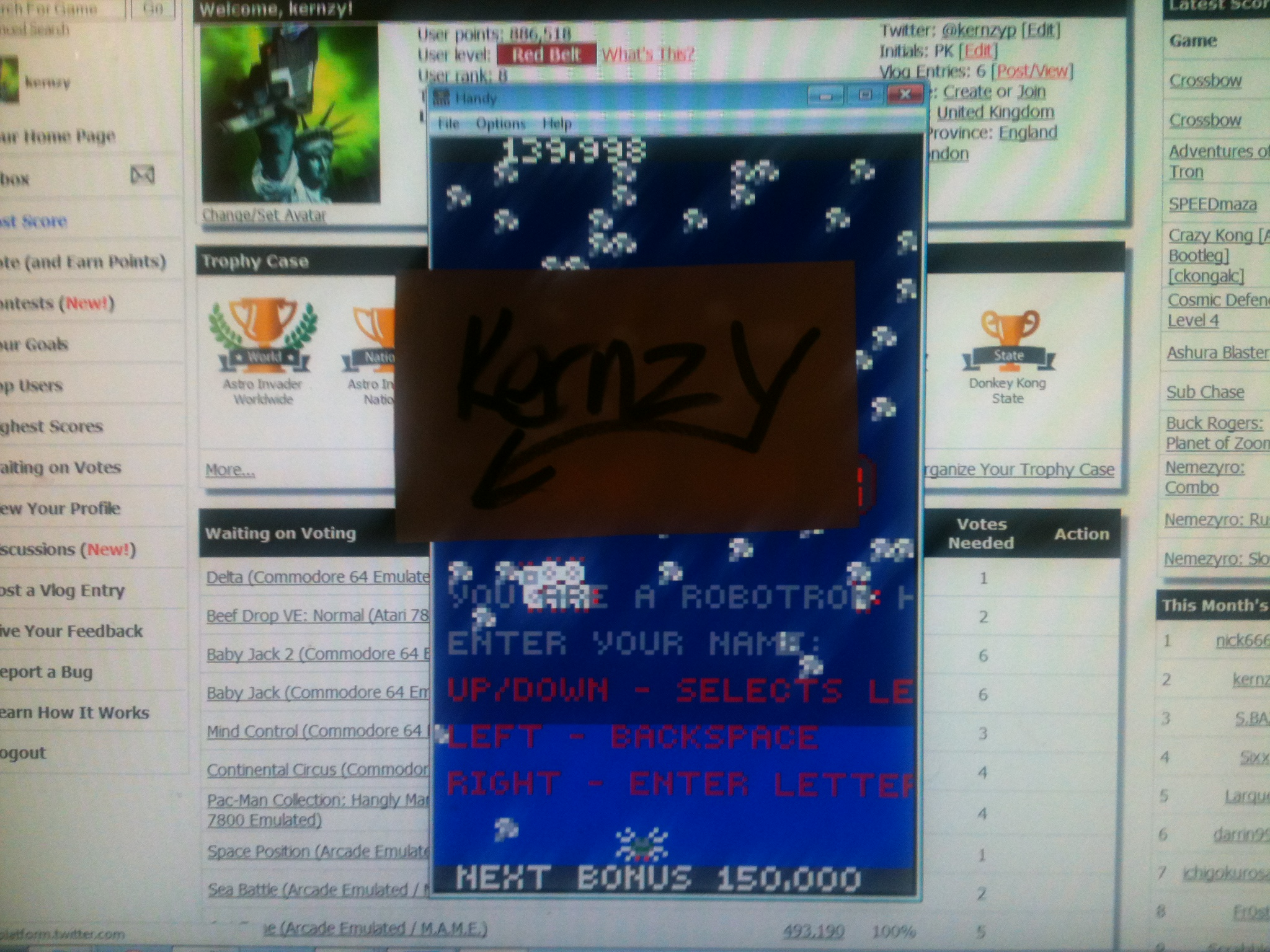 kernzy: Centipede (Atari Lynx Emulated) 139,998 points on 2014-11-15 13:42:21