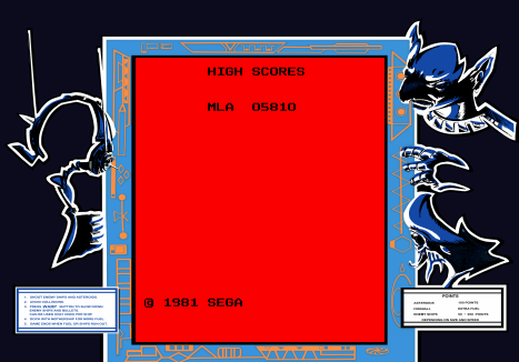 Astro Blaster 5,810 points