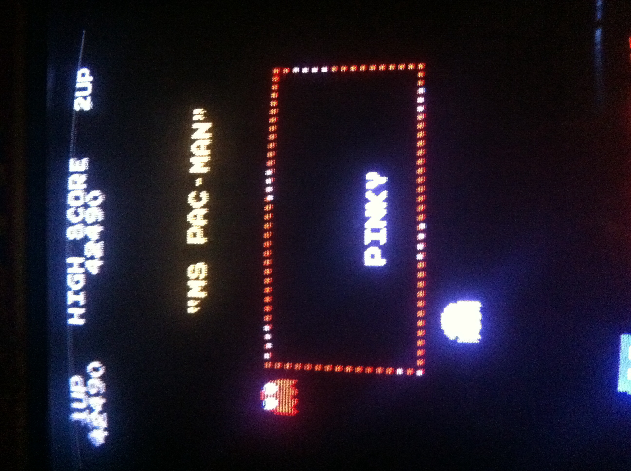 Ms. Pac-Man 42,490 points