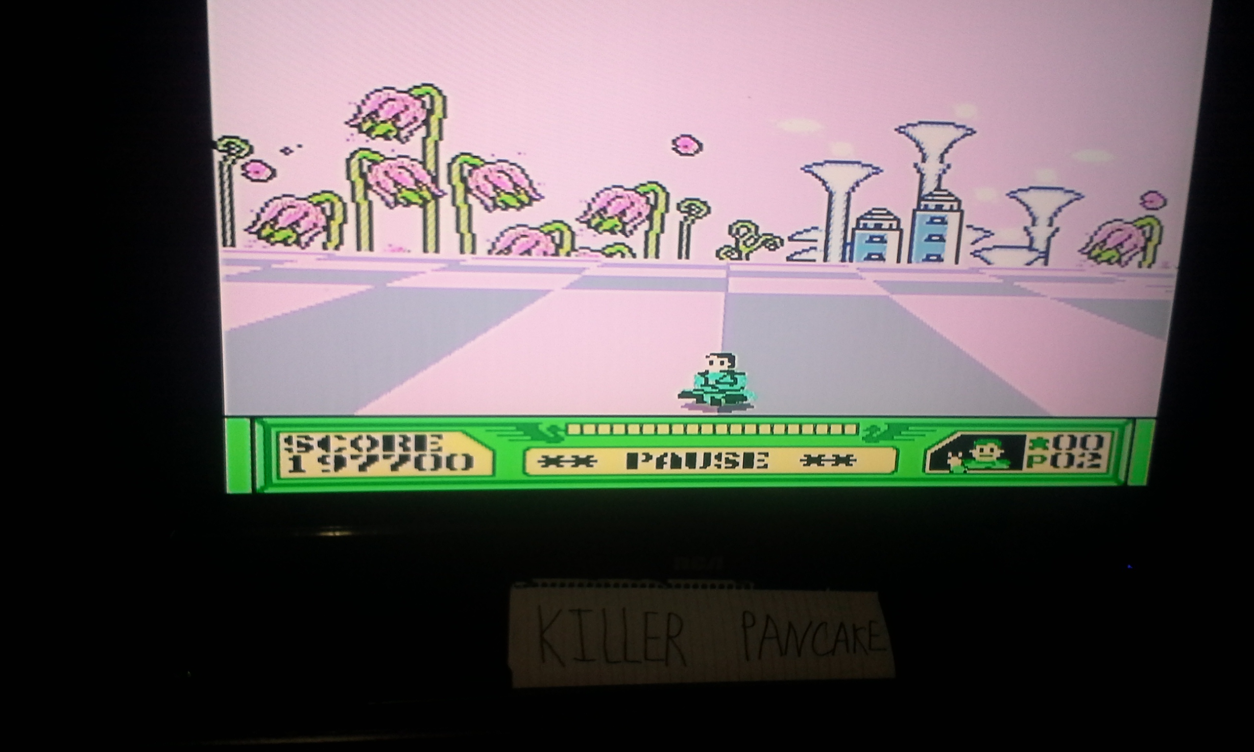 KillerPancake: 3-D World Runner (NES/Famicom) 197,700 points on 2014-11-16 21:14:22