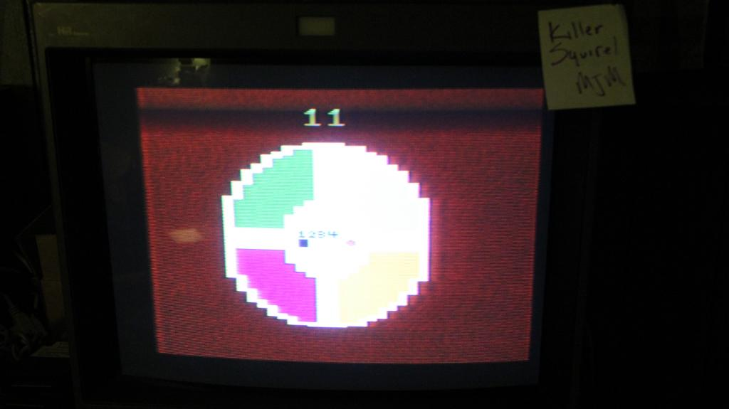 killersquirel: Video Simon (Atari 2600 Expert/A) 11 points on 2013-10-15 08:14:03