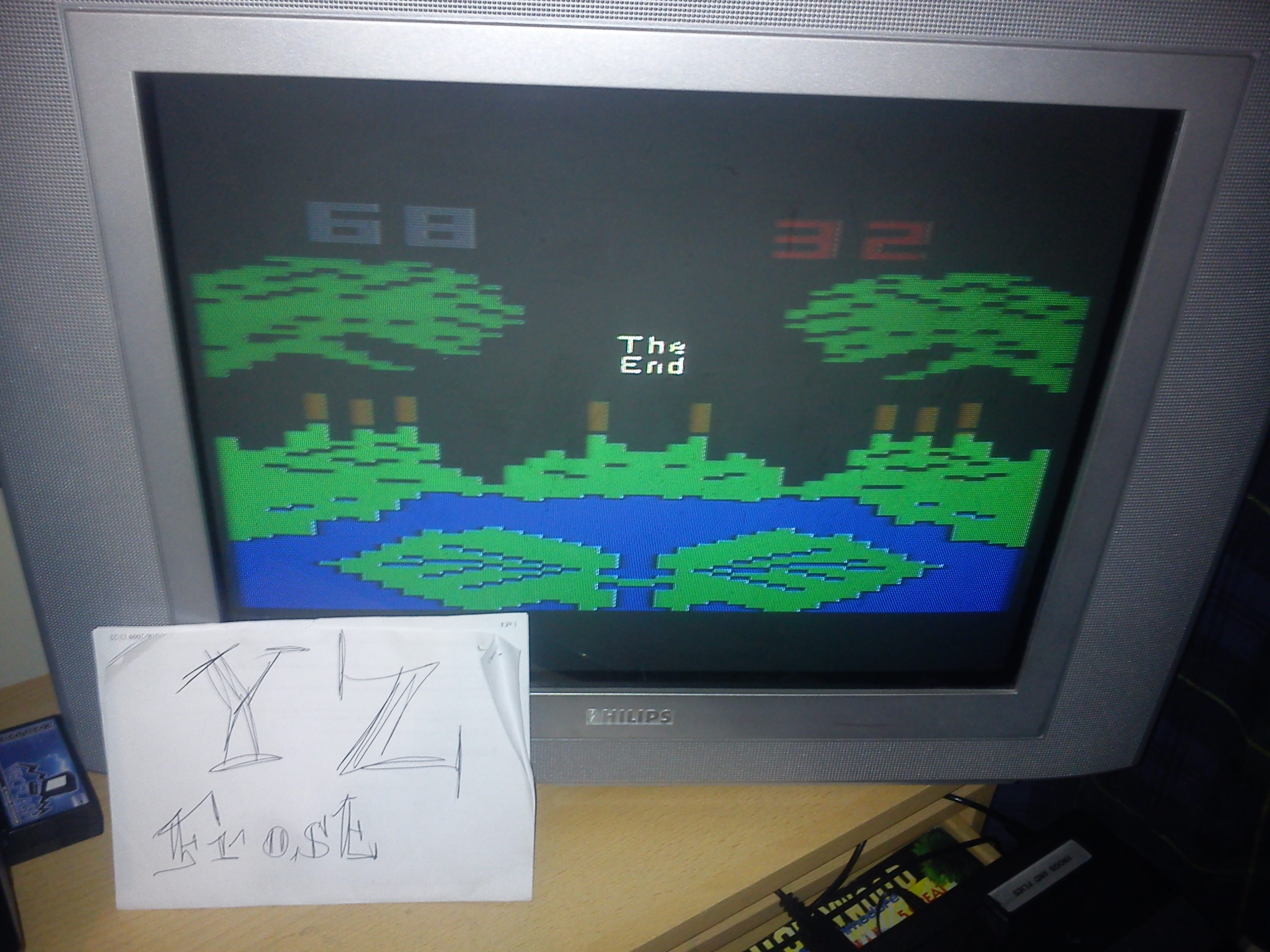 Fr0st: Frogs and Flies (Atari 2600 Novice/B) 68 points on 2014-11-17 18:25:13